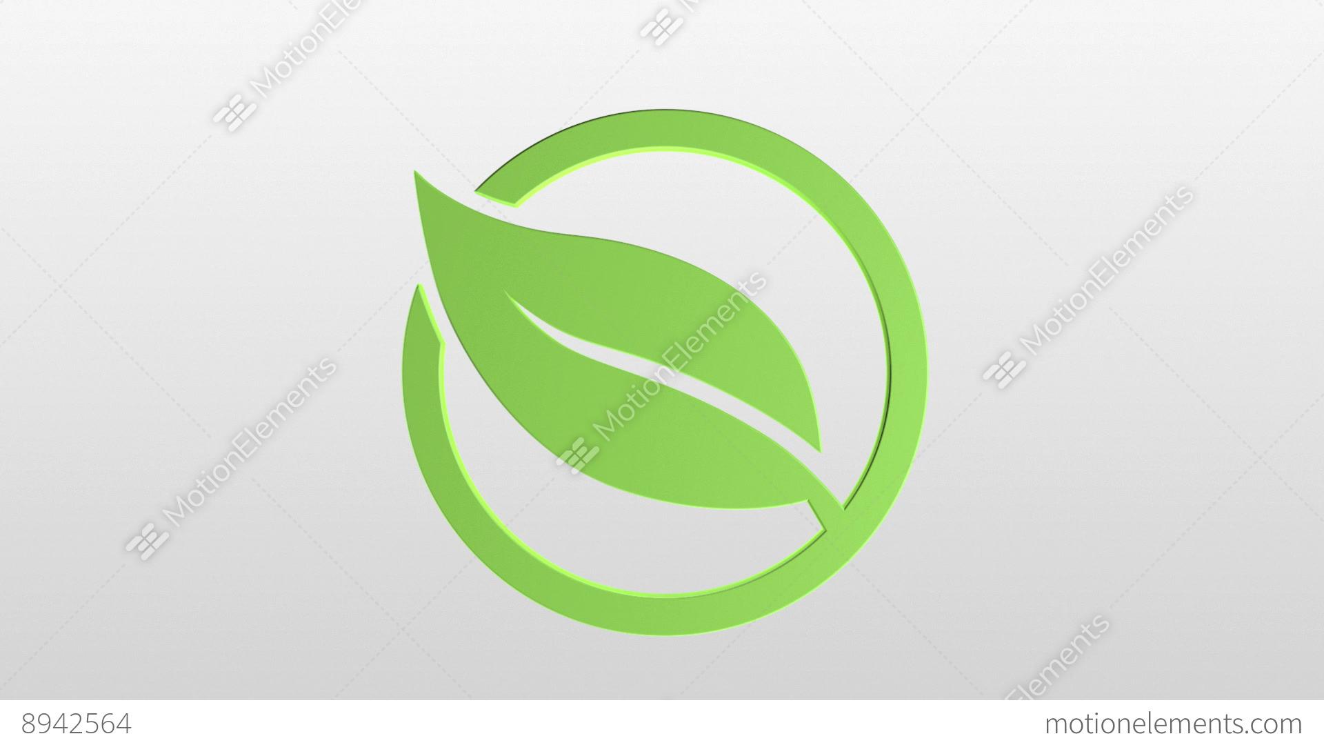 Скачать Eco Technology Flat Icons: Eco Icons Stock Animation