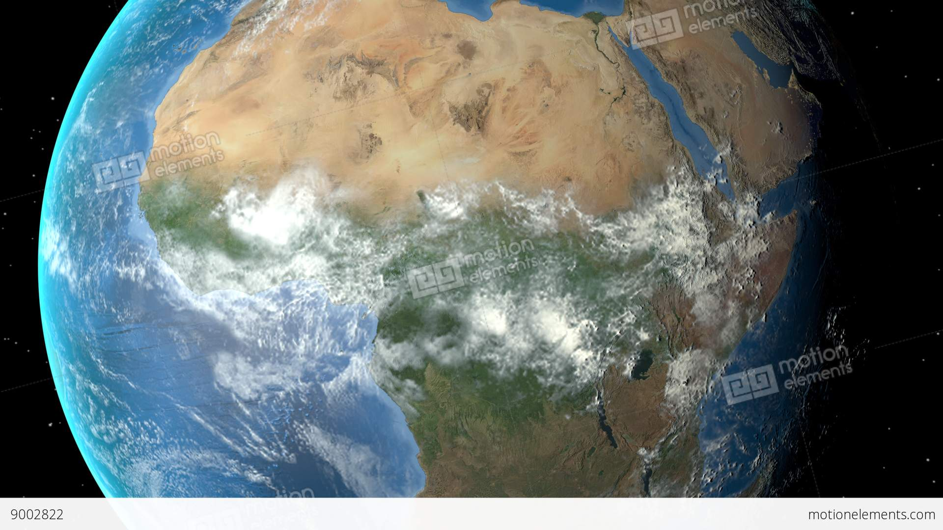Night to day rotating earth zoom in on nigeria outlined stock night to day rotating earth zoom in on nigeria outlined stock video footage gumiabroncs Image collections