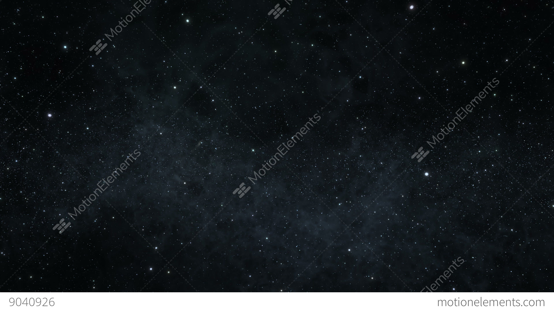 Space Flight Among The Stars Stock Video Footage   Royalty ...