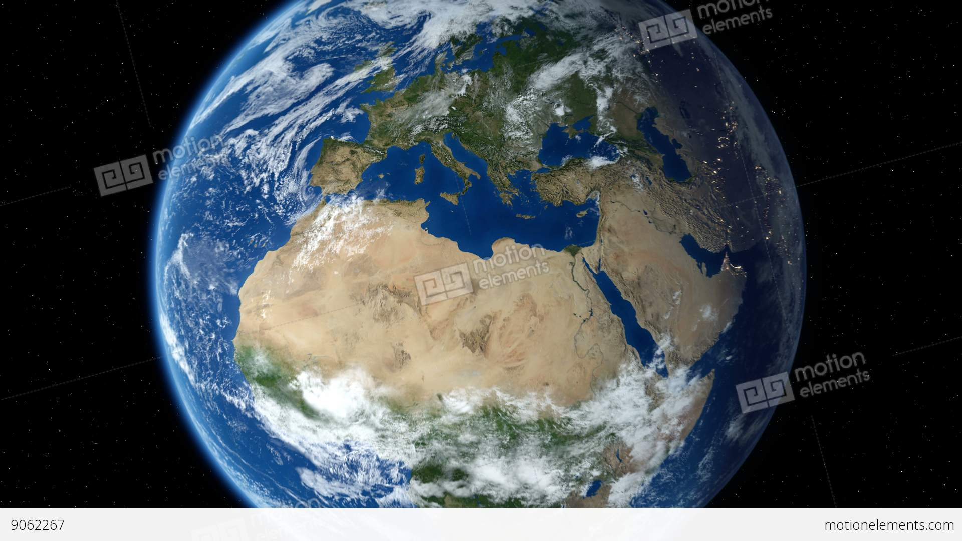 Earth zoom in from outer space to street level zoom to for 3d outer space map