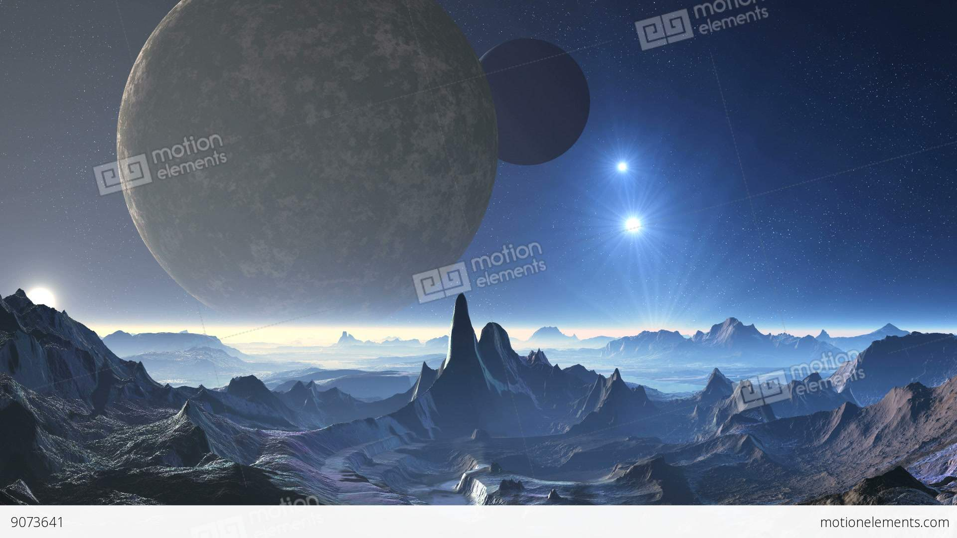 images of which planet has two moons spacehero