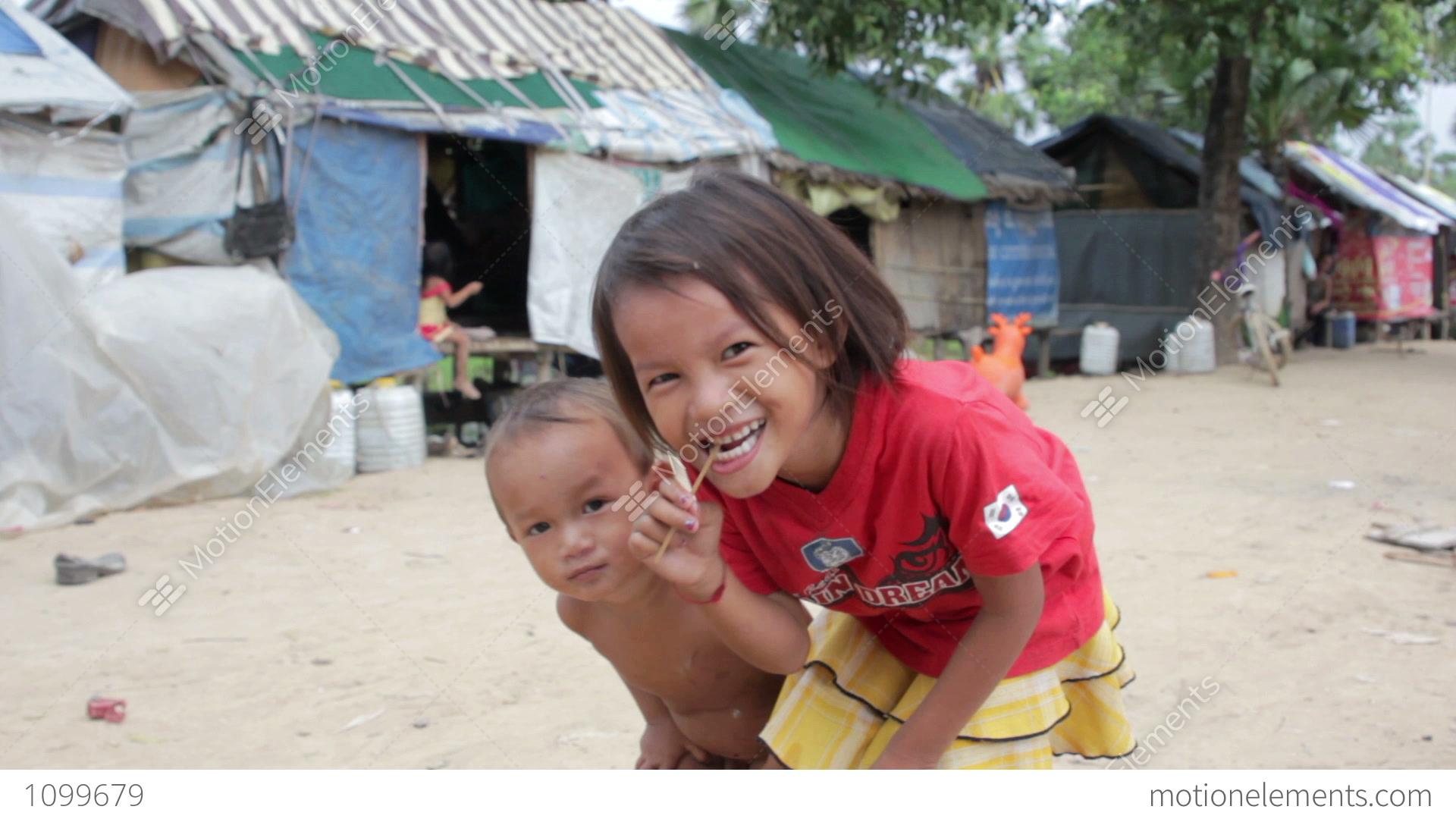 Cambodian Slums Stock Footage & Videos - (13 Stock Videos