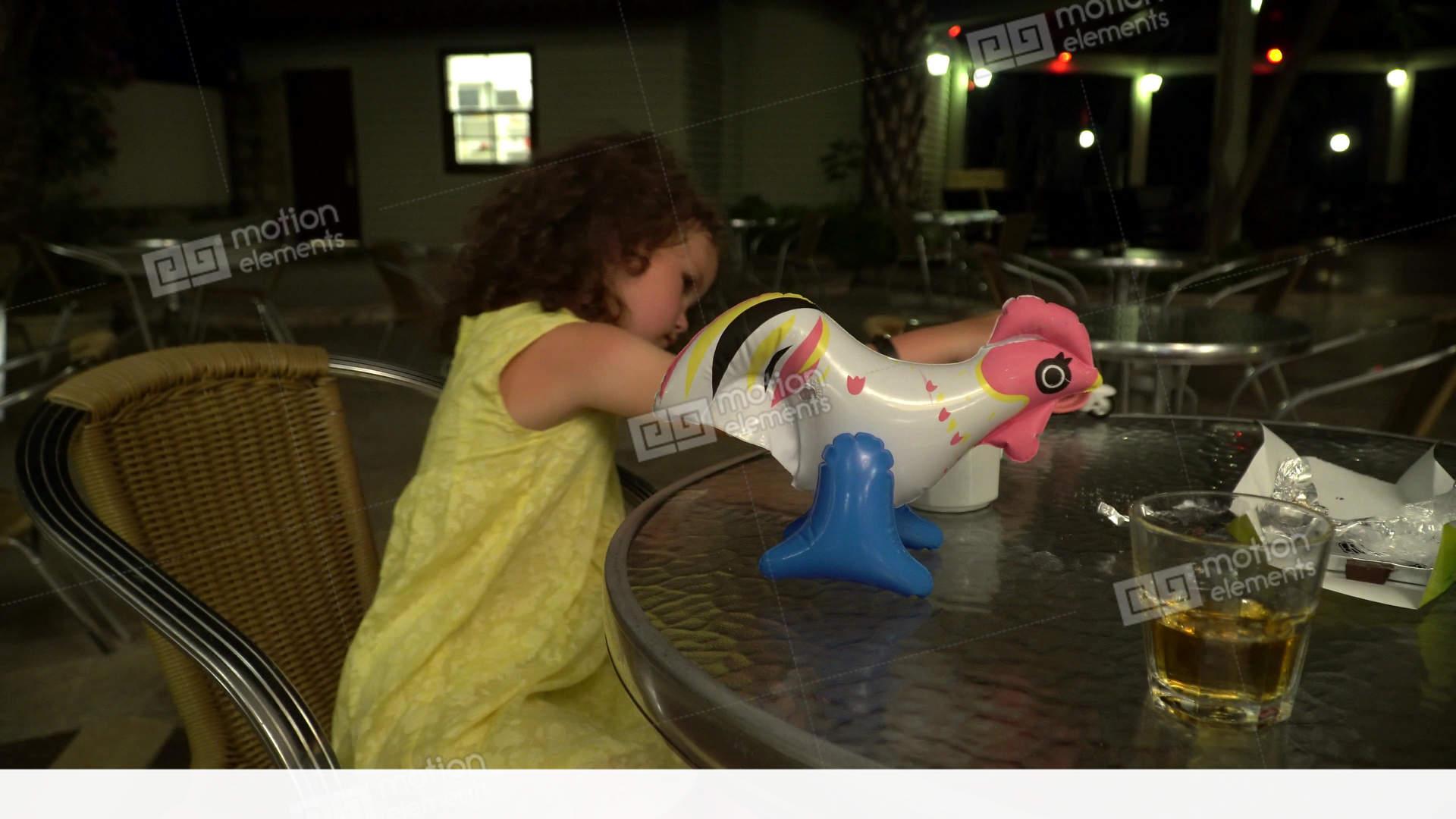 little girls movie night