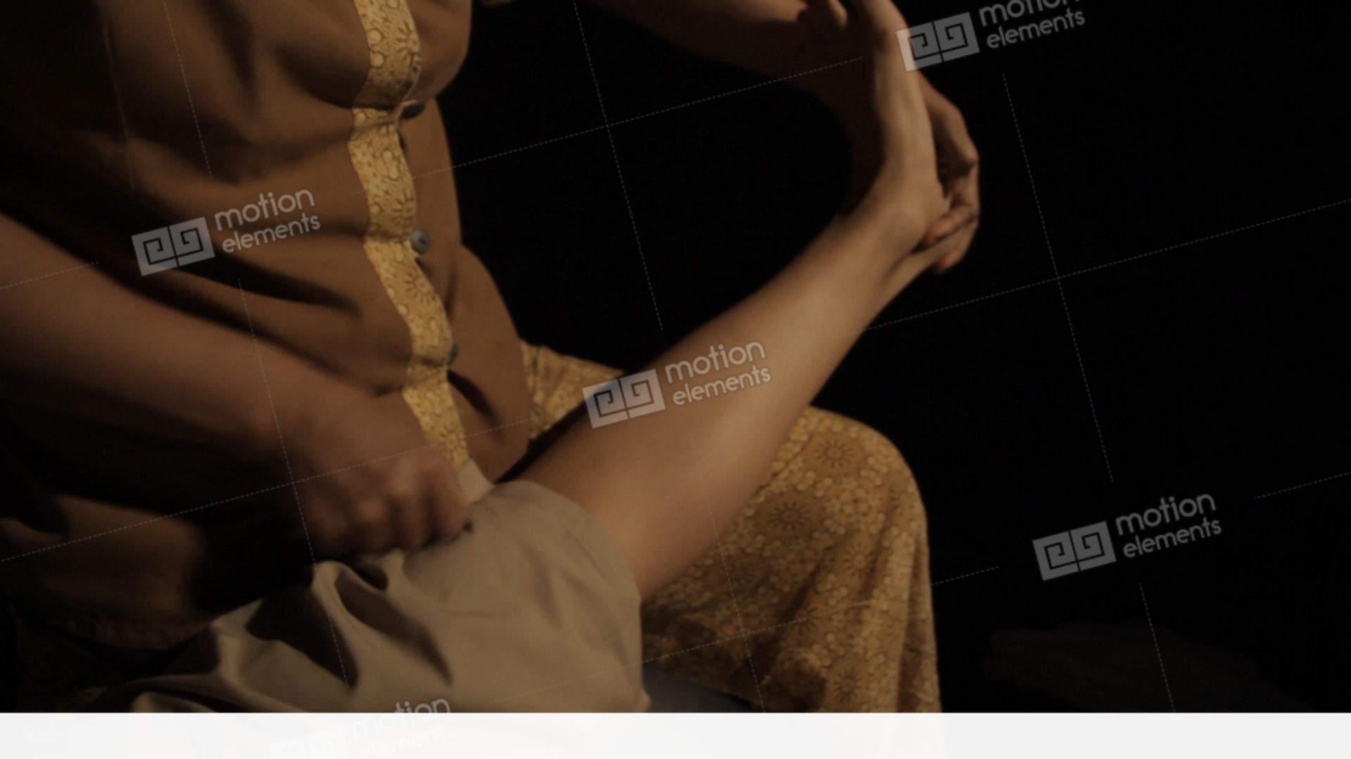 Thai Massage Body Parts Stock Video Footage