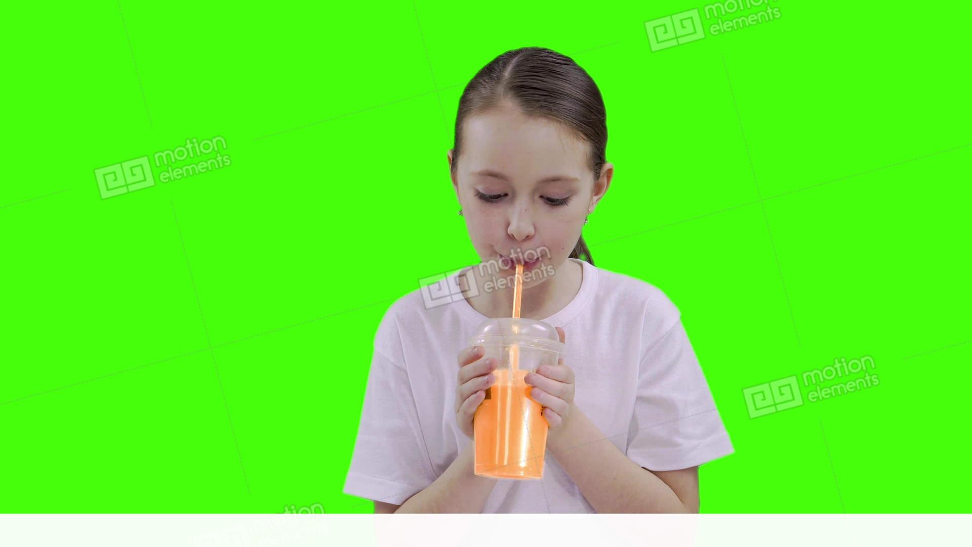 Girls drinking cum through a straw this rather