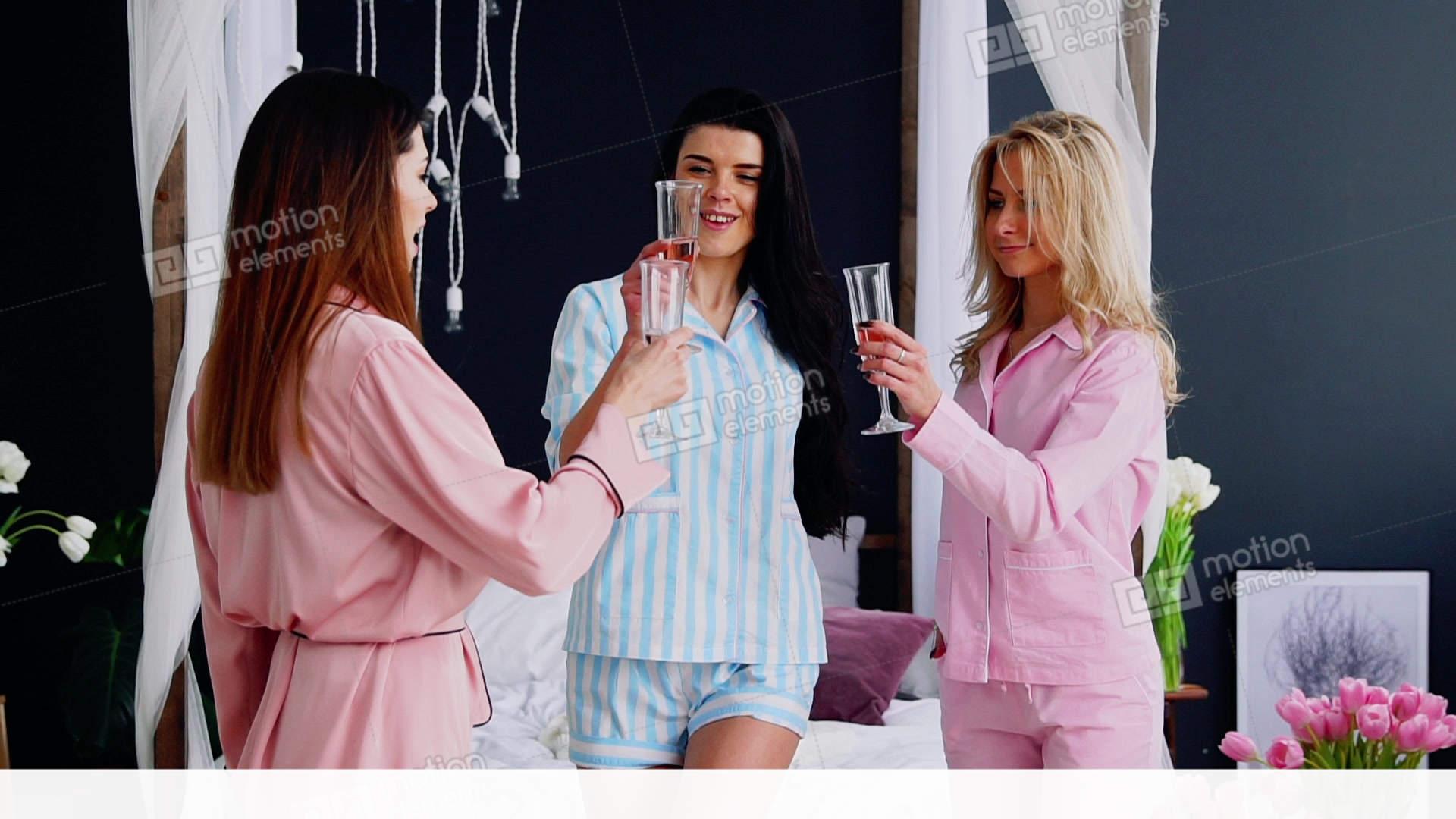 Mature pajama party