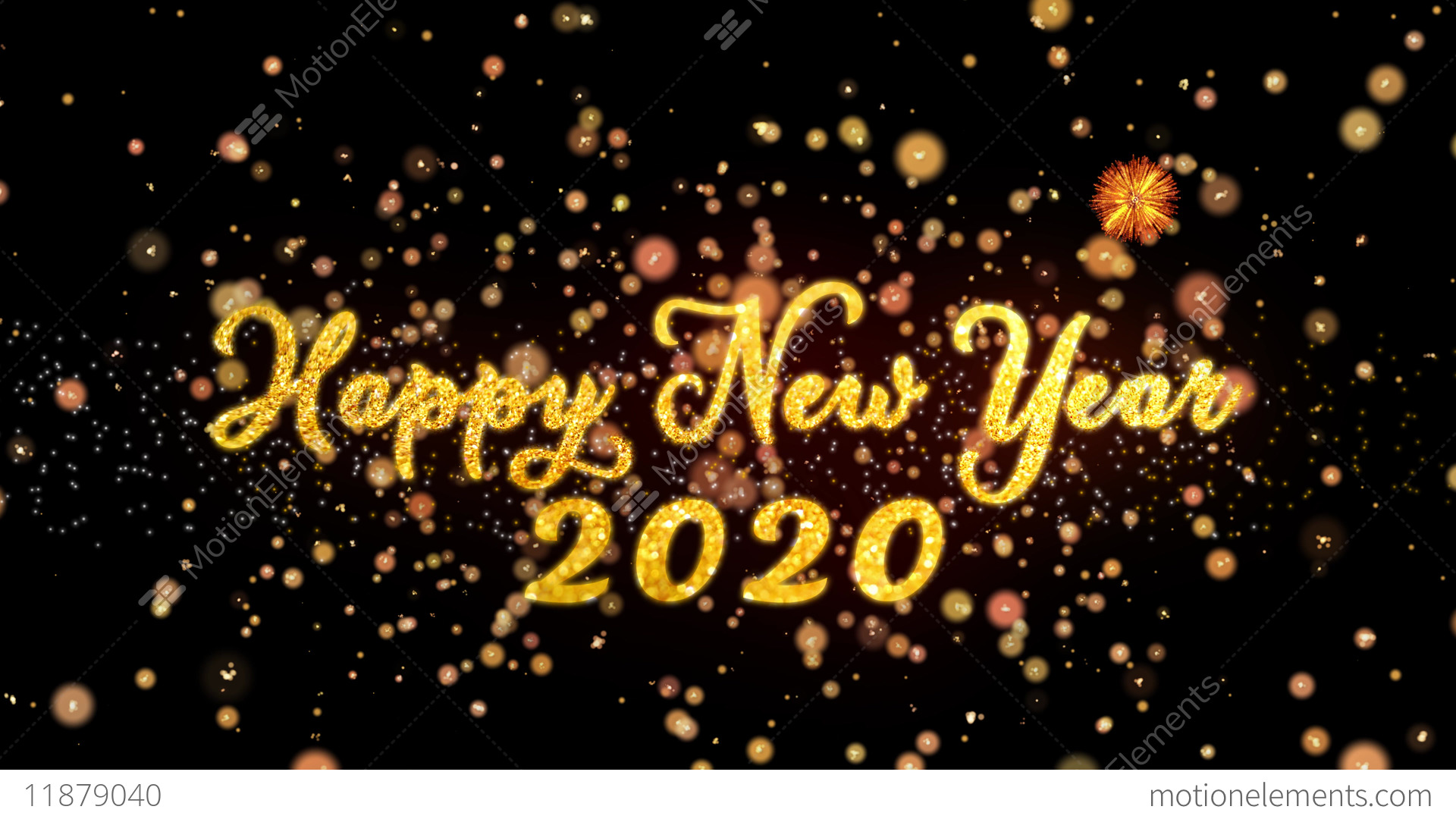 Happy new year photo video 2020
