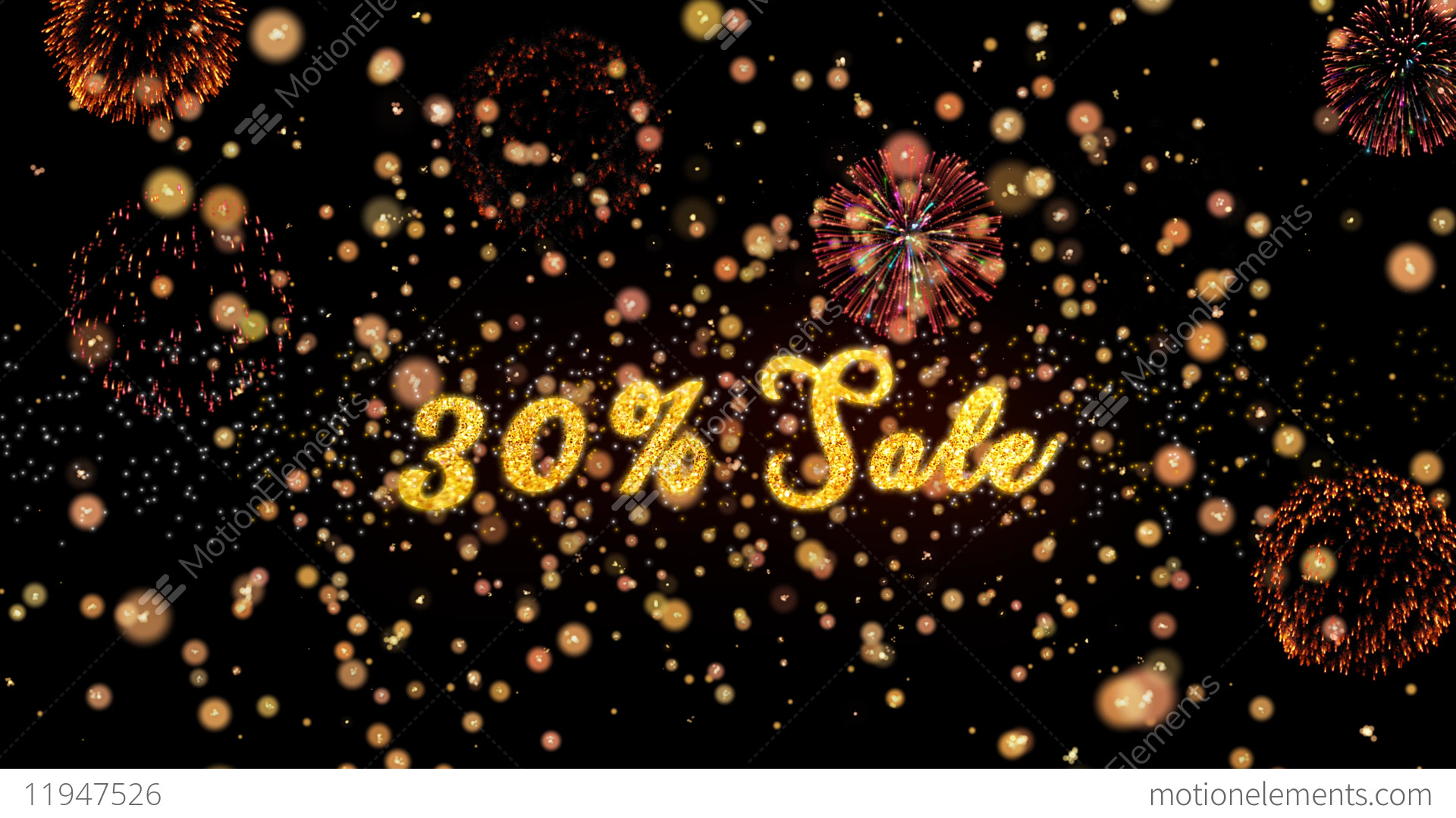 30 sale abstract particles and glitter fireworks greeting card stock 30 sale abstract particles and glitter fireworks greeting stock video footage m4hsunfo