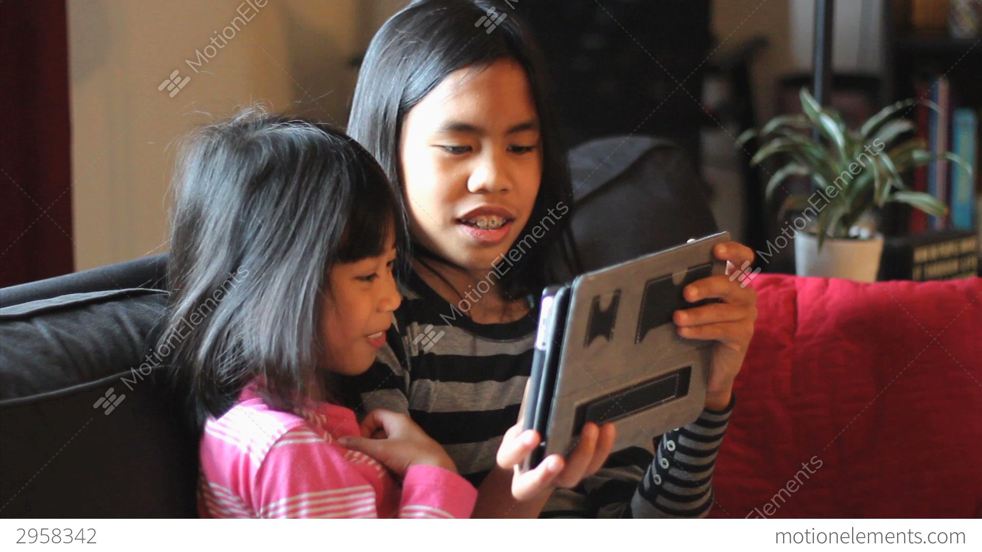 Asian girls fun