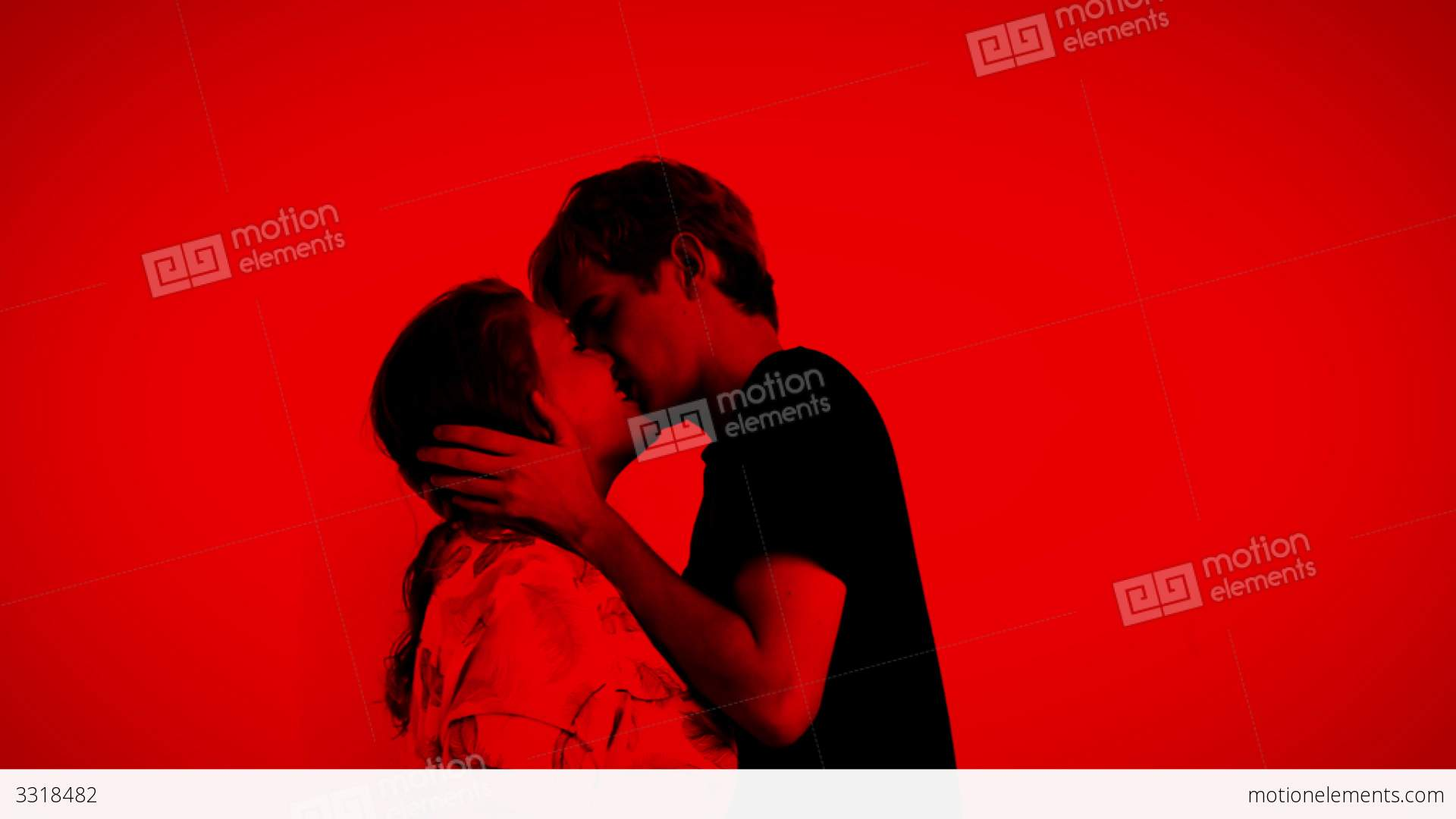 Romantic kissing teens 4 stock video footage 3318482 romantic kissing teens 4 stock video footage thecheapjerseys Image collections