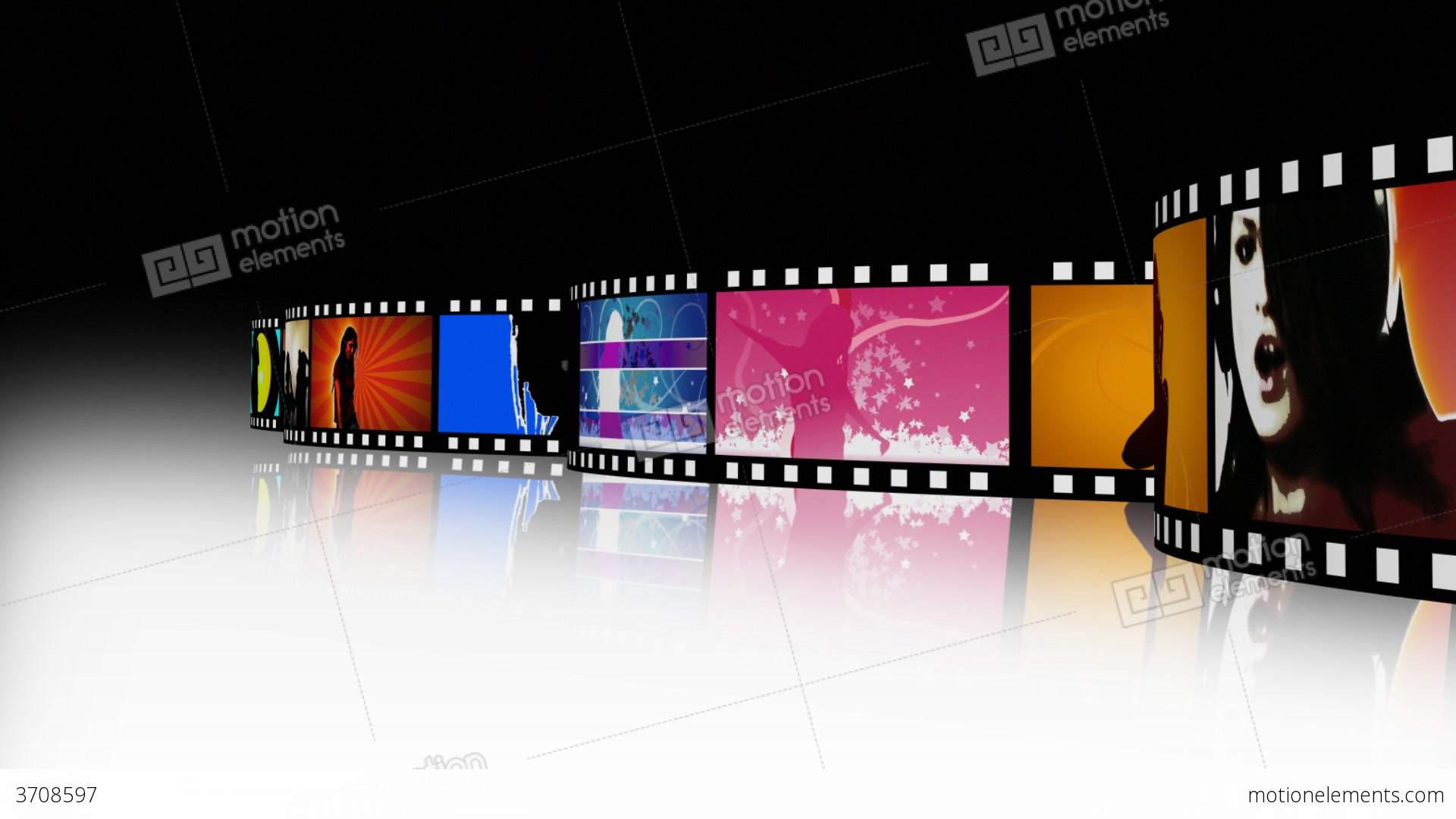 Movie film strip wallpaper