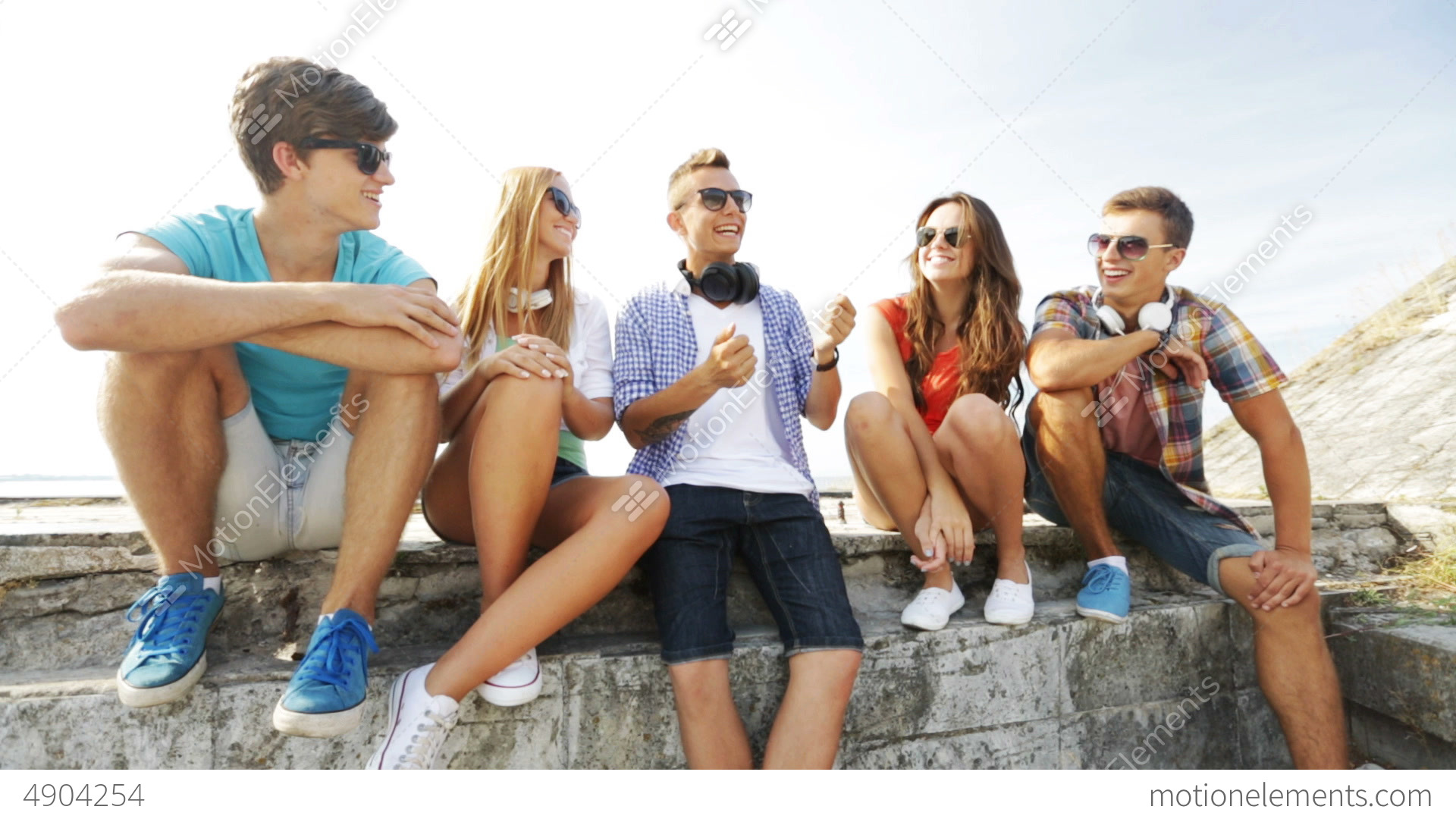 People hanging out
