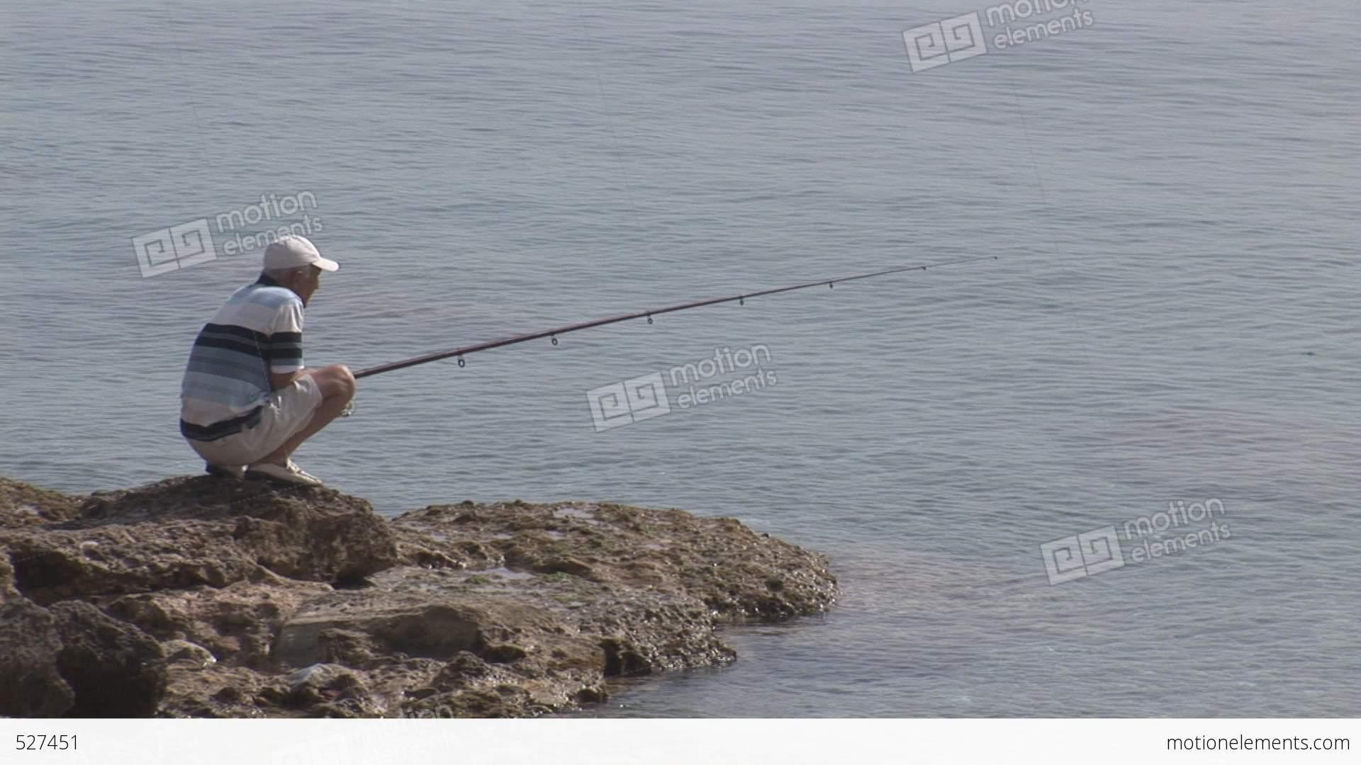 94 рыбалка удочка вода
