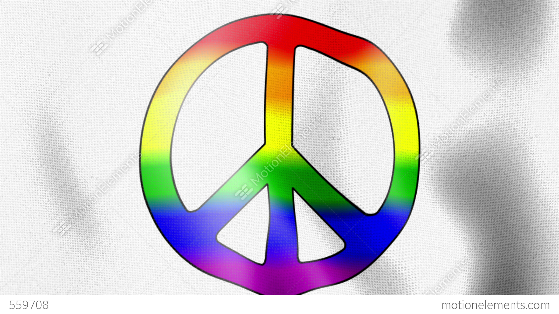 Waving flag rainbow peace sign stock animation 559708 waving flag rainbow peace sign stock video footage biocorpaavc