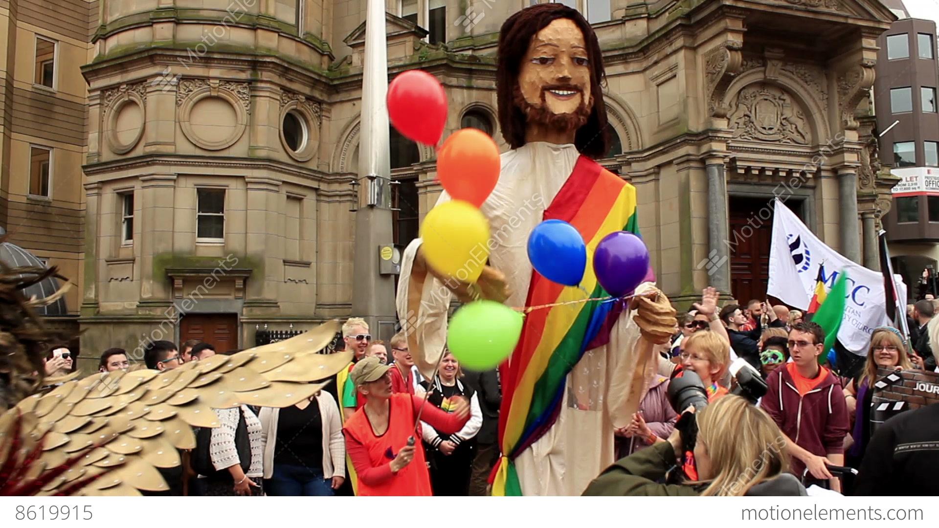Jesus gay video