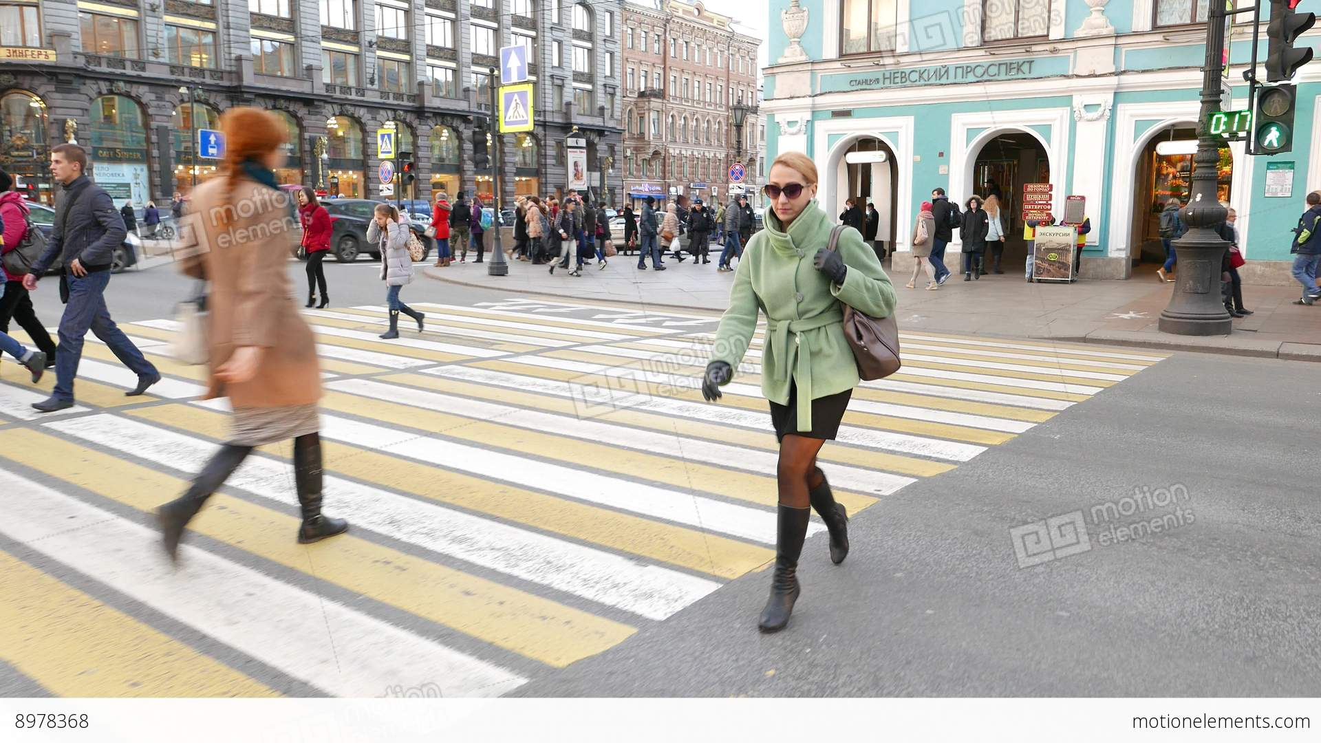Image result for female crossing road