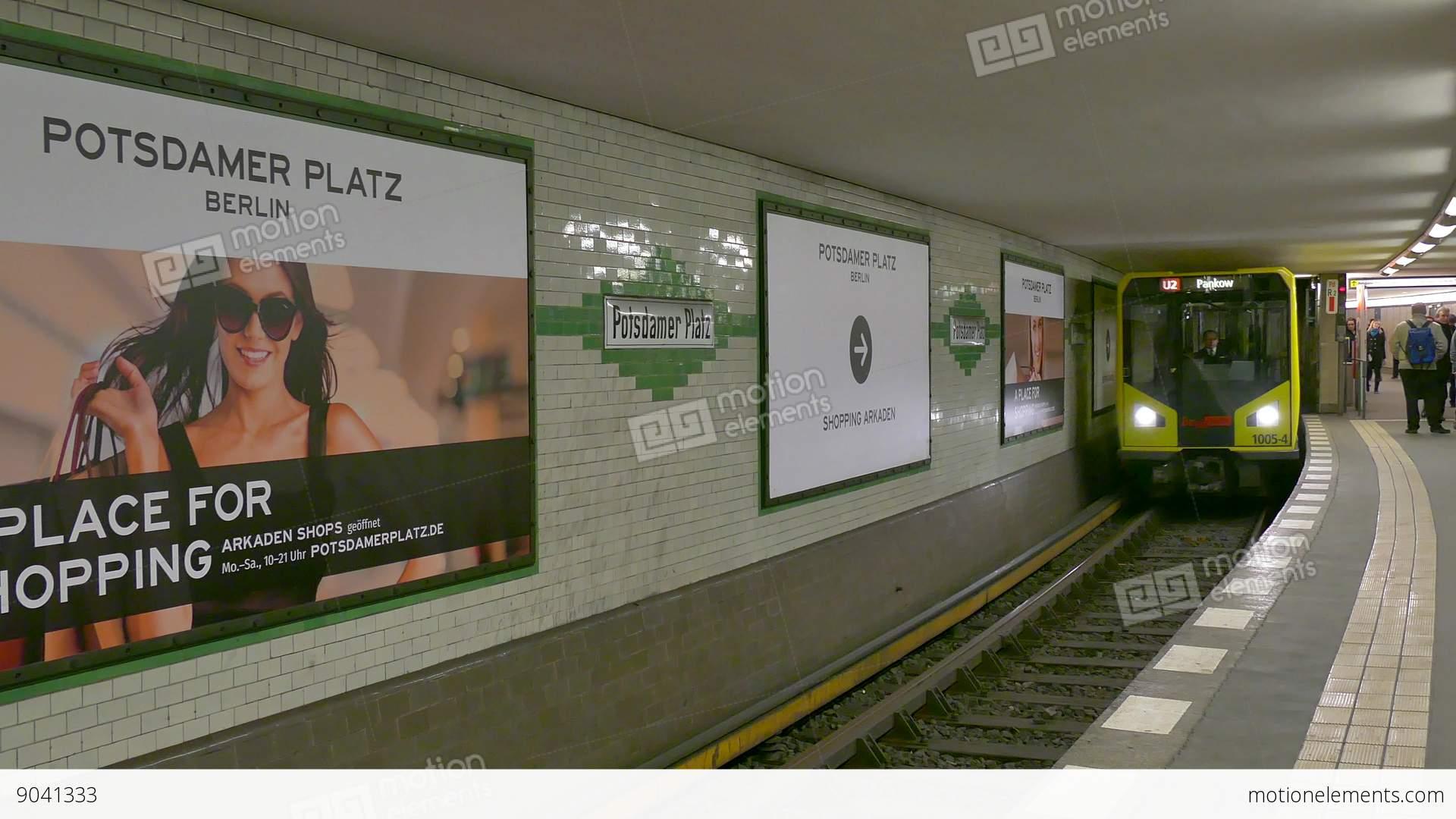 6 Berlin German City Germany Europe Subway Underground Train ...