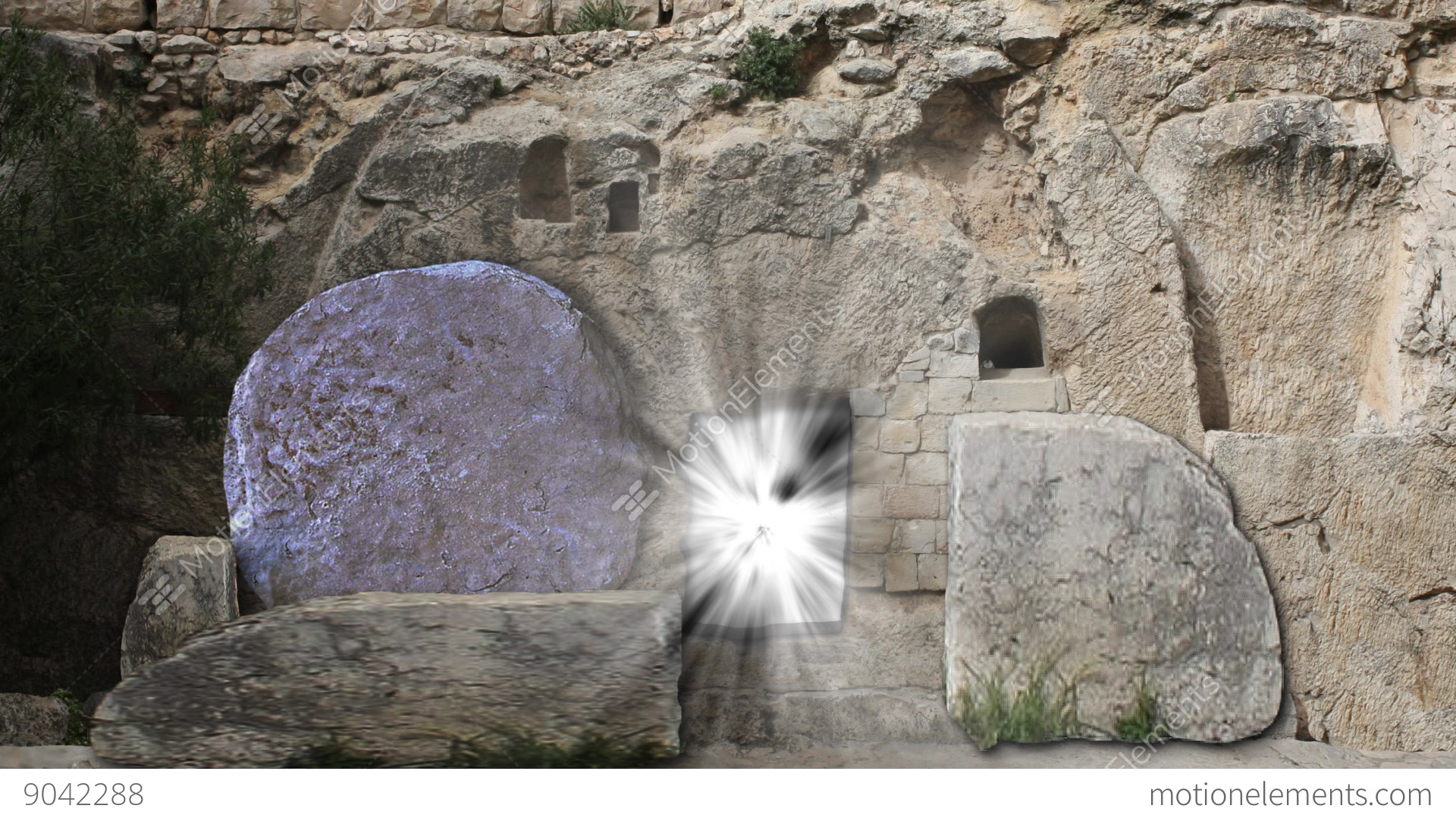 The Tomb Of Jesus Opening Rolling Stone Easter Morning