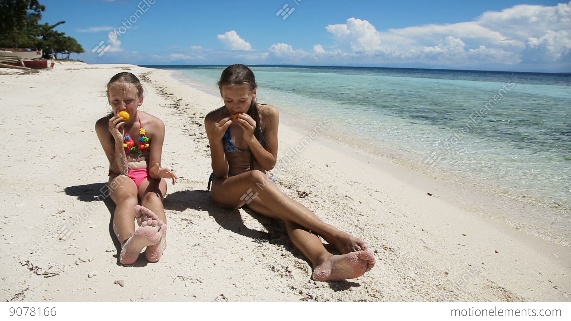 nude beach girls eating girls