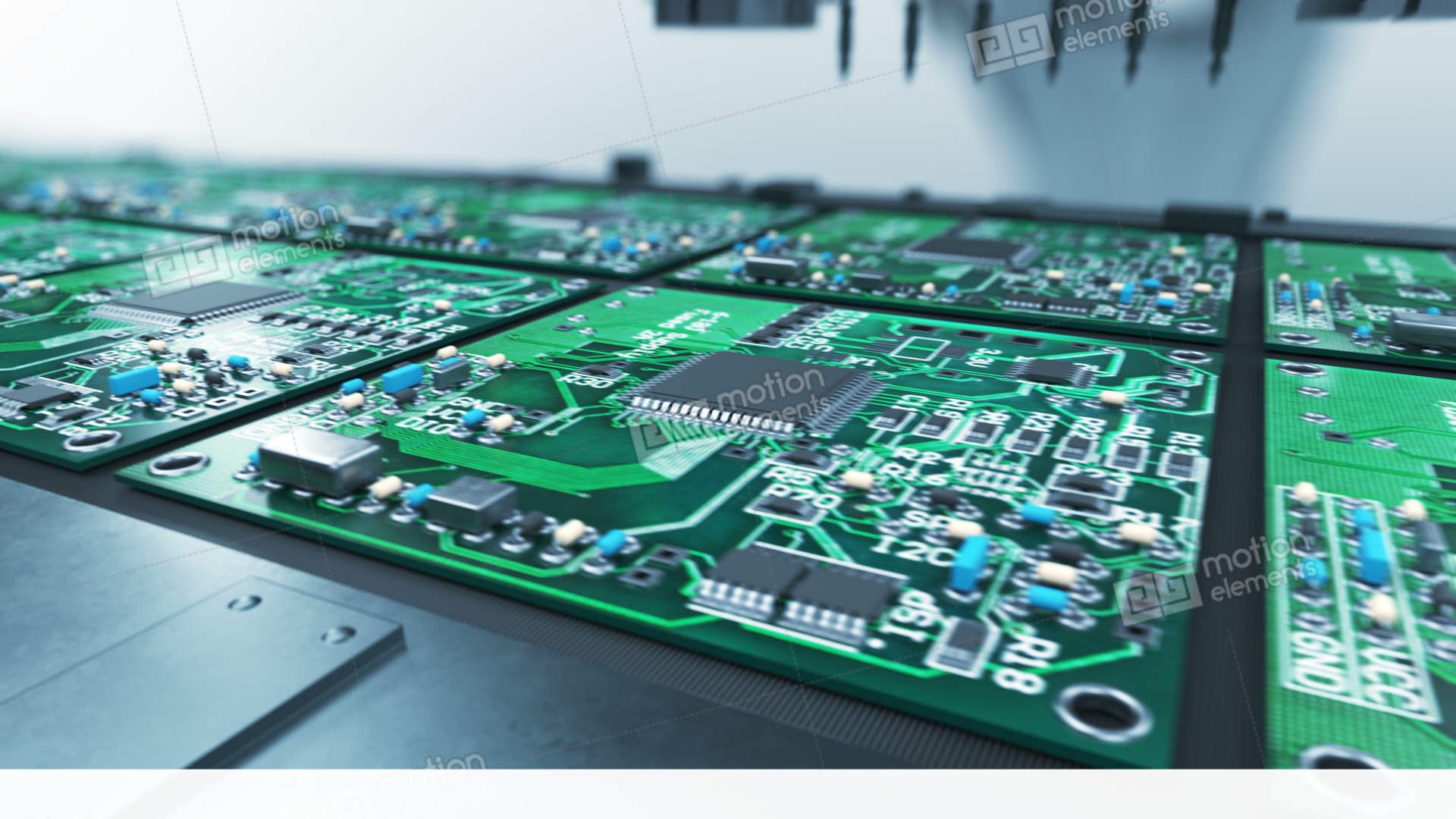 Beautiful Basic Electronic Components Software Help Circuit Board With Inside A Computer Stock Photo Picture Of Wall Decoration For Electronics Hobbiyest Process Robotic Arm Production Video Footage