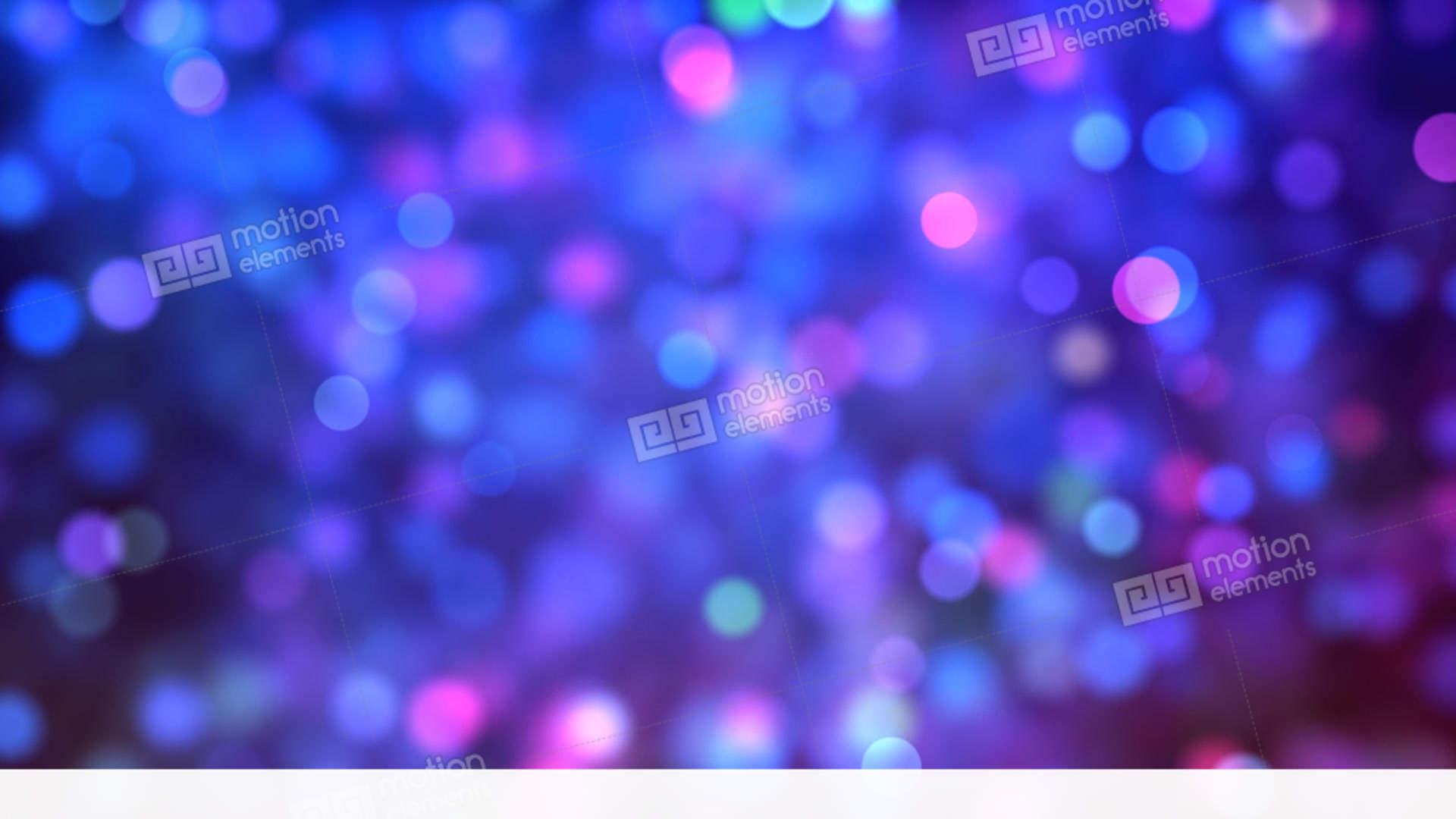 blue pink bokeh background loop stock video footage