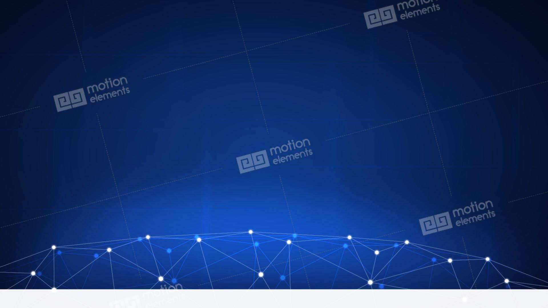 Blockchain Technology Futuristic Hud Background Stock Video Footage