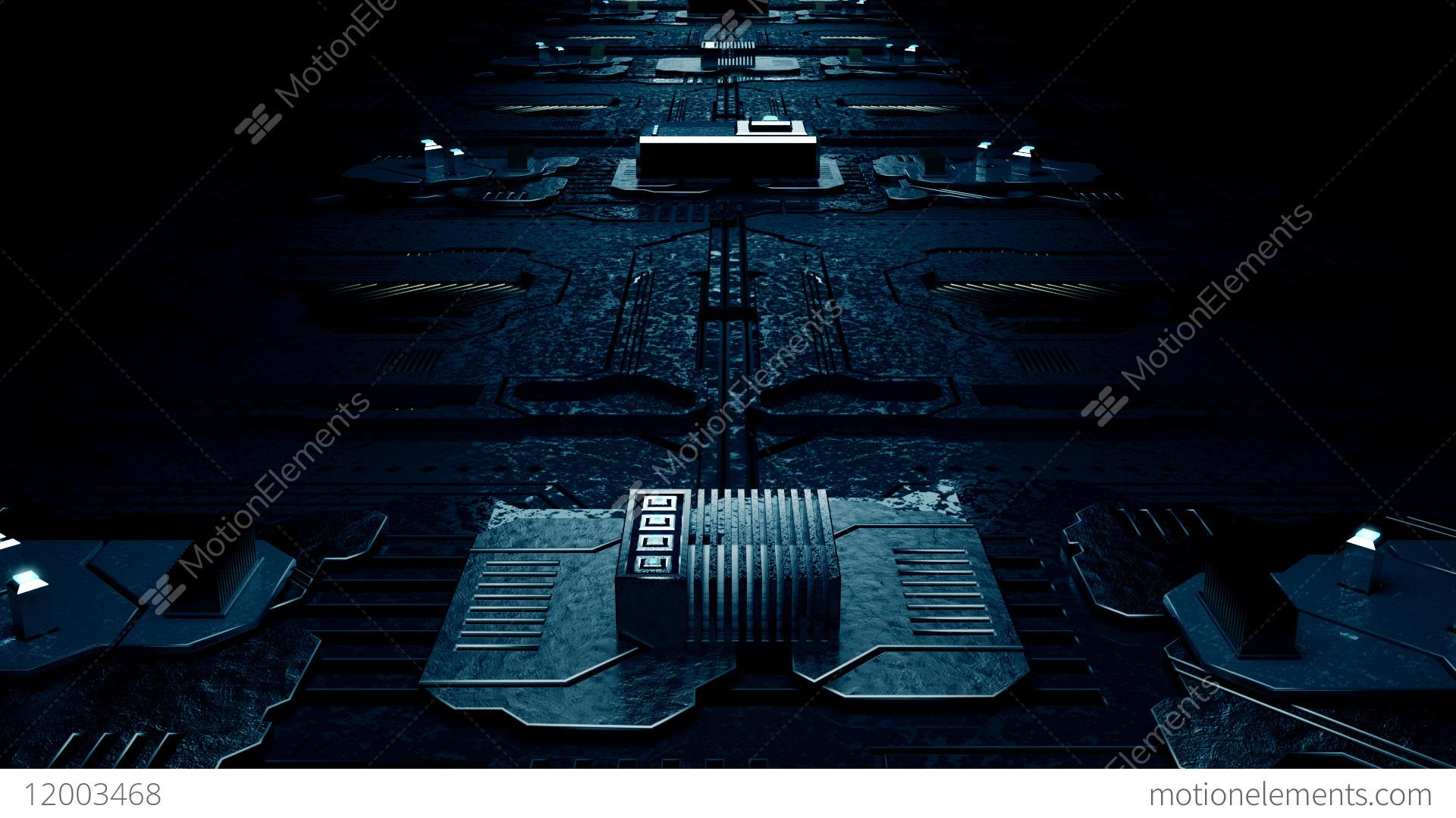 Circuit Board Loop V2 Stock Animation 12003468 Circuitboardtablejpg Video Footage
