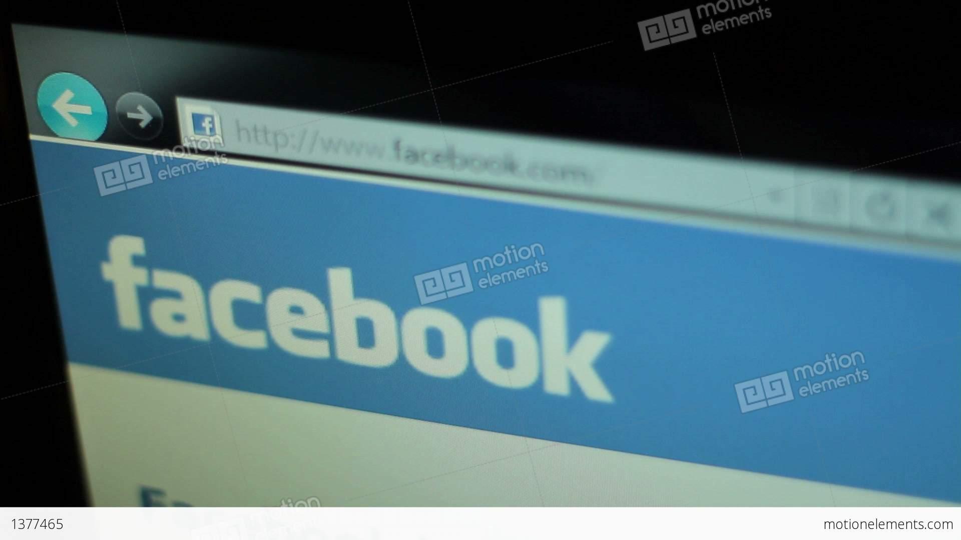 Facebook Stock Footage