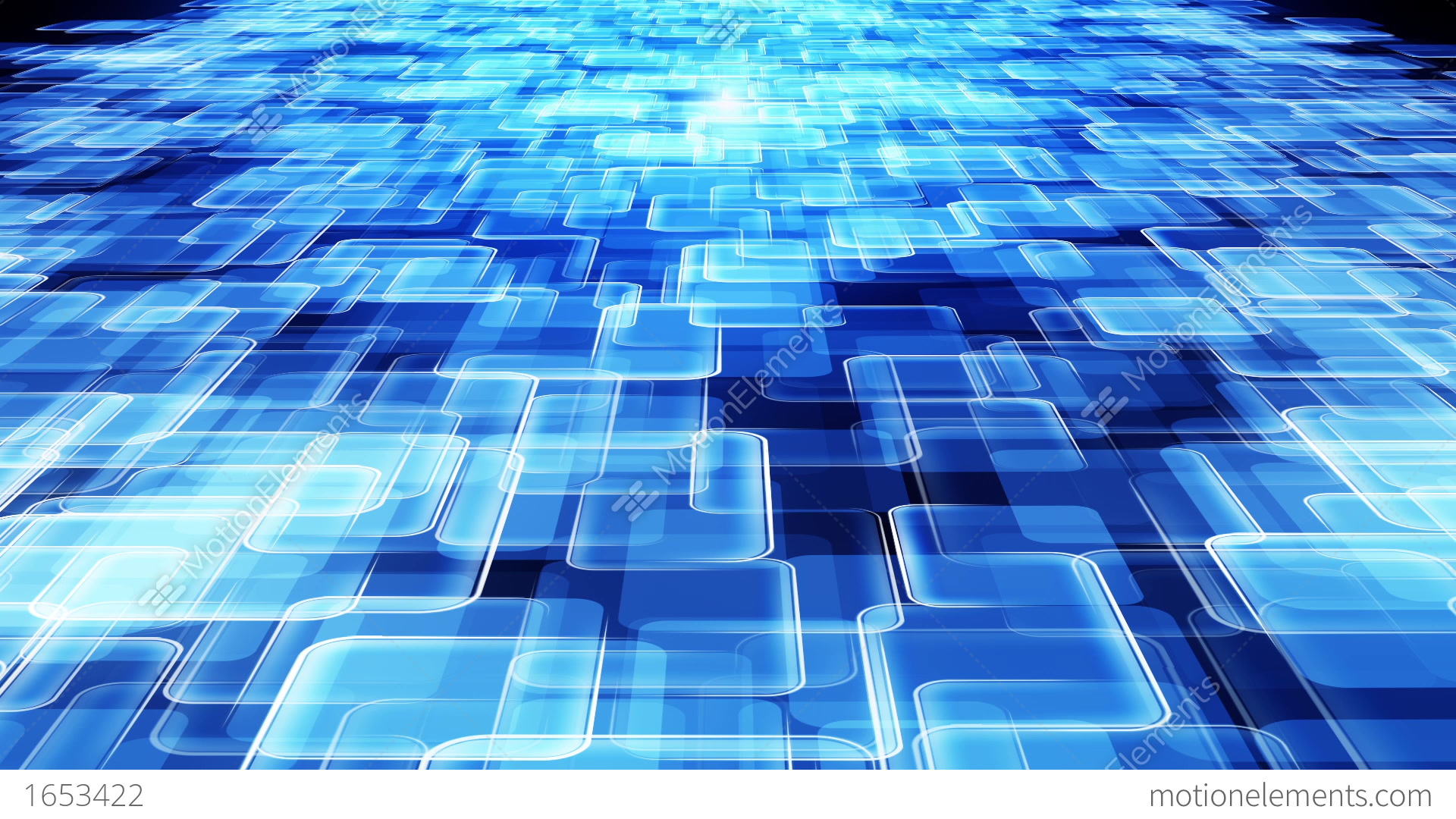 Abstract Blue Communication Background Stock Animation ...