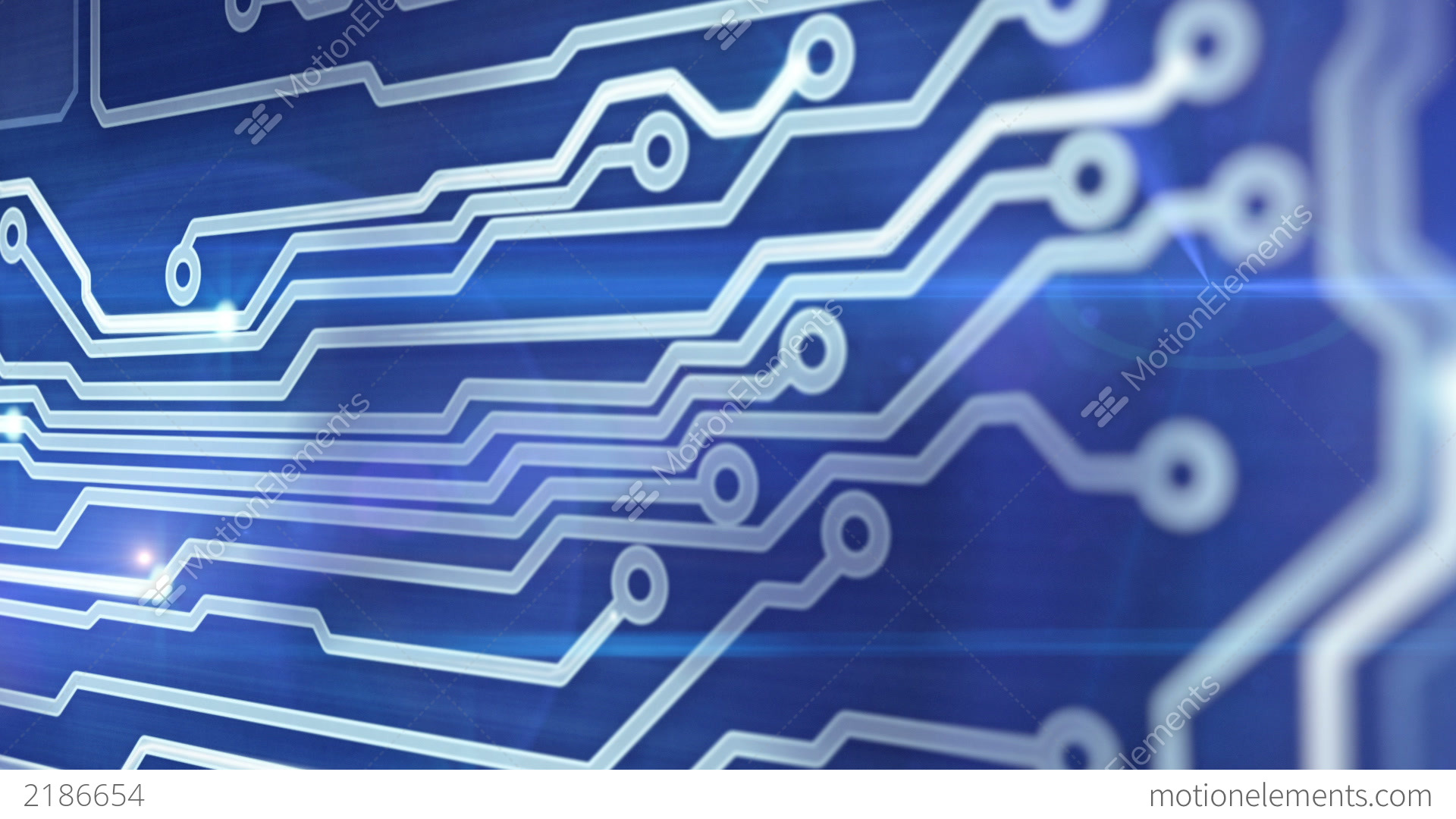 Blue Circuit Board Images Stock Photos Vectors Wallpaper Pattern Bluecircuit Providing Signals 3d Animation Video Footage