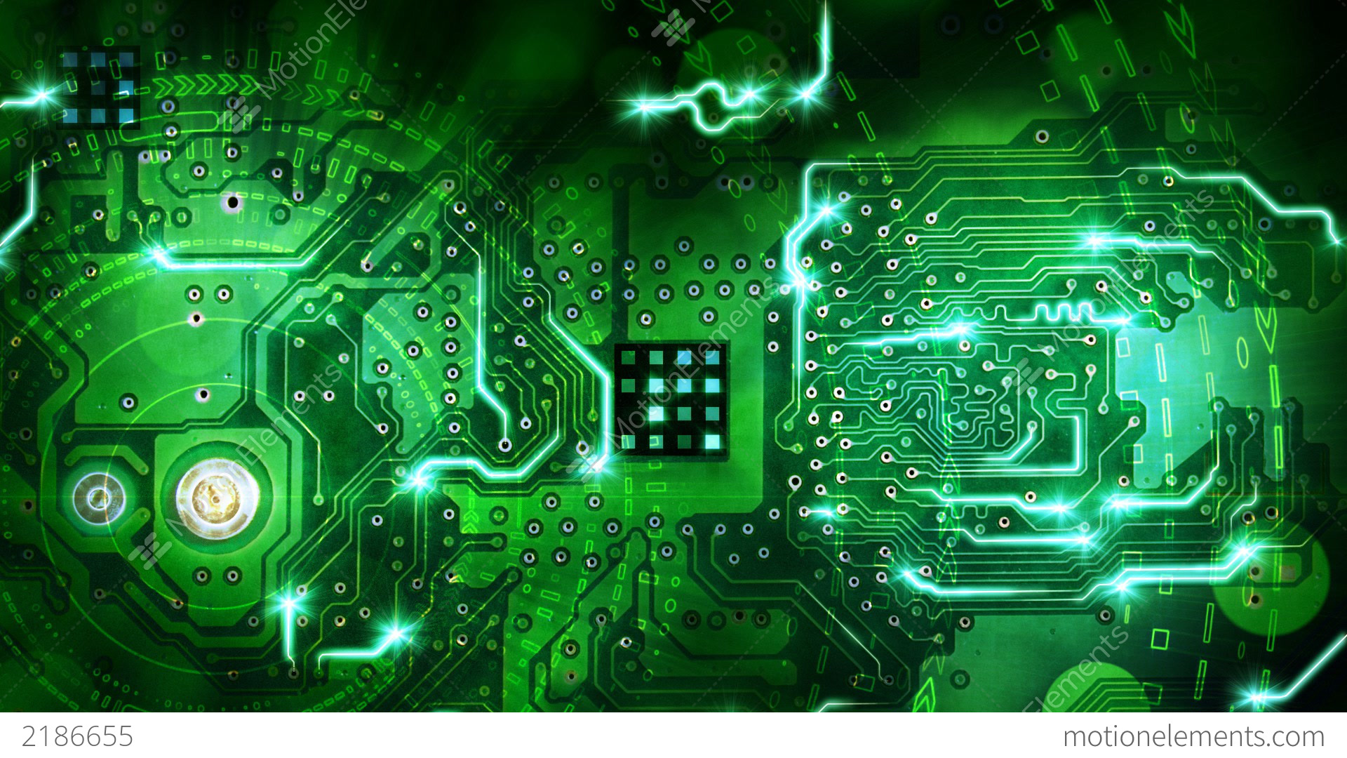Abstract Circuit Board Stock Video 11357481 Hd Stock Footage