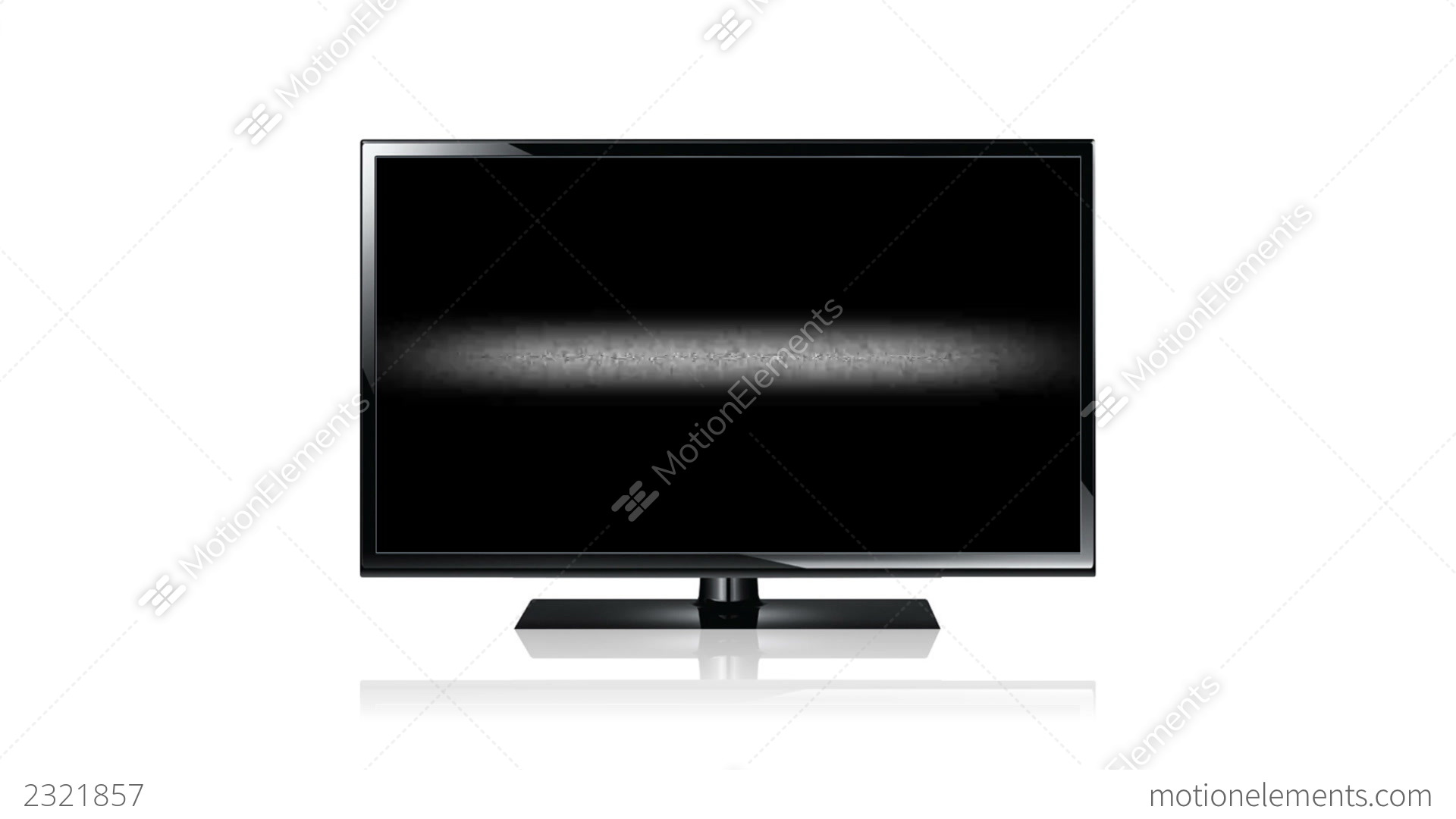 Flat Screen Tv Stock Animation 2321857
