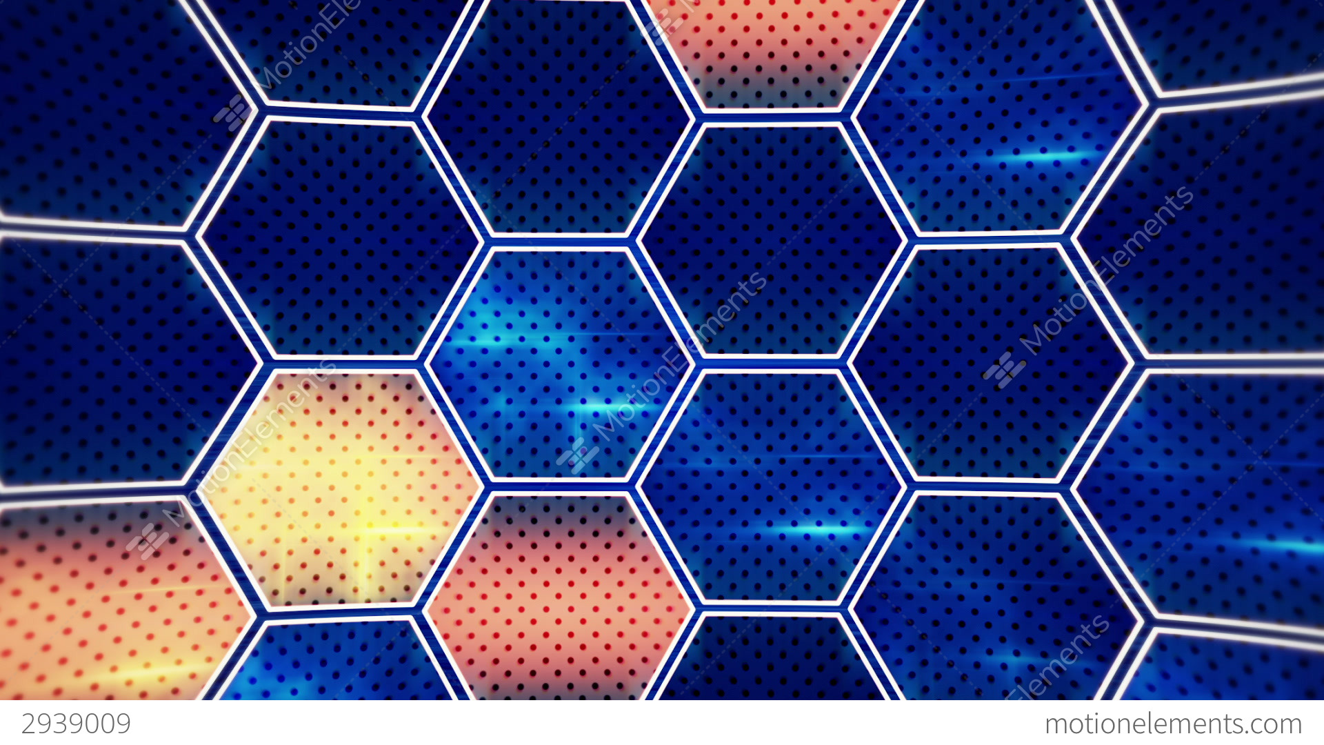 Flashing blue orange hexagons loopable background stock animation flashing blue orange hexagons loopable background stock video footage altavistaventures Gallery