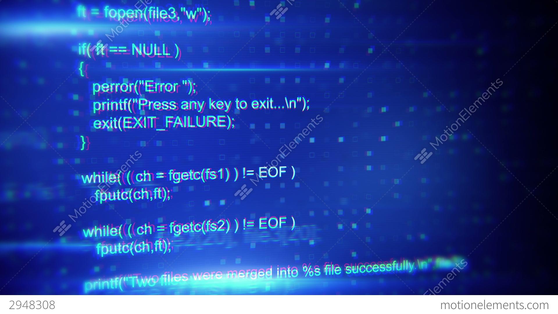 Background image code - Program Code Seamless Loop Background Stock Video Footage