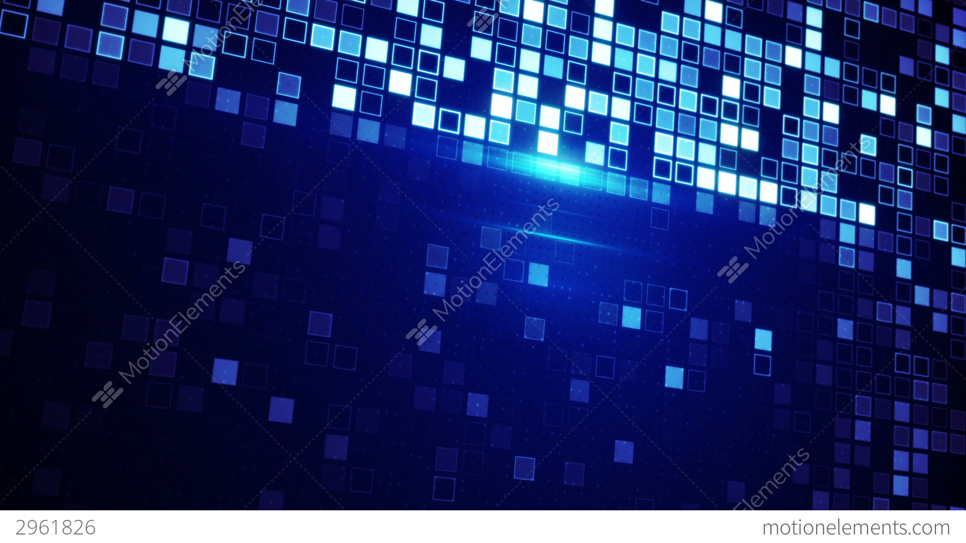 Abstract techno squares background Vector | Free Download
