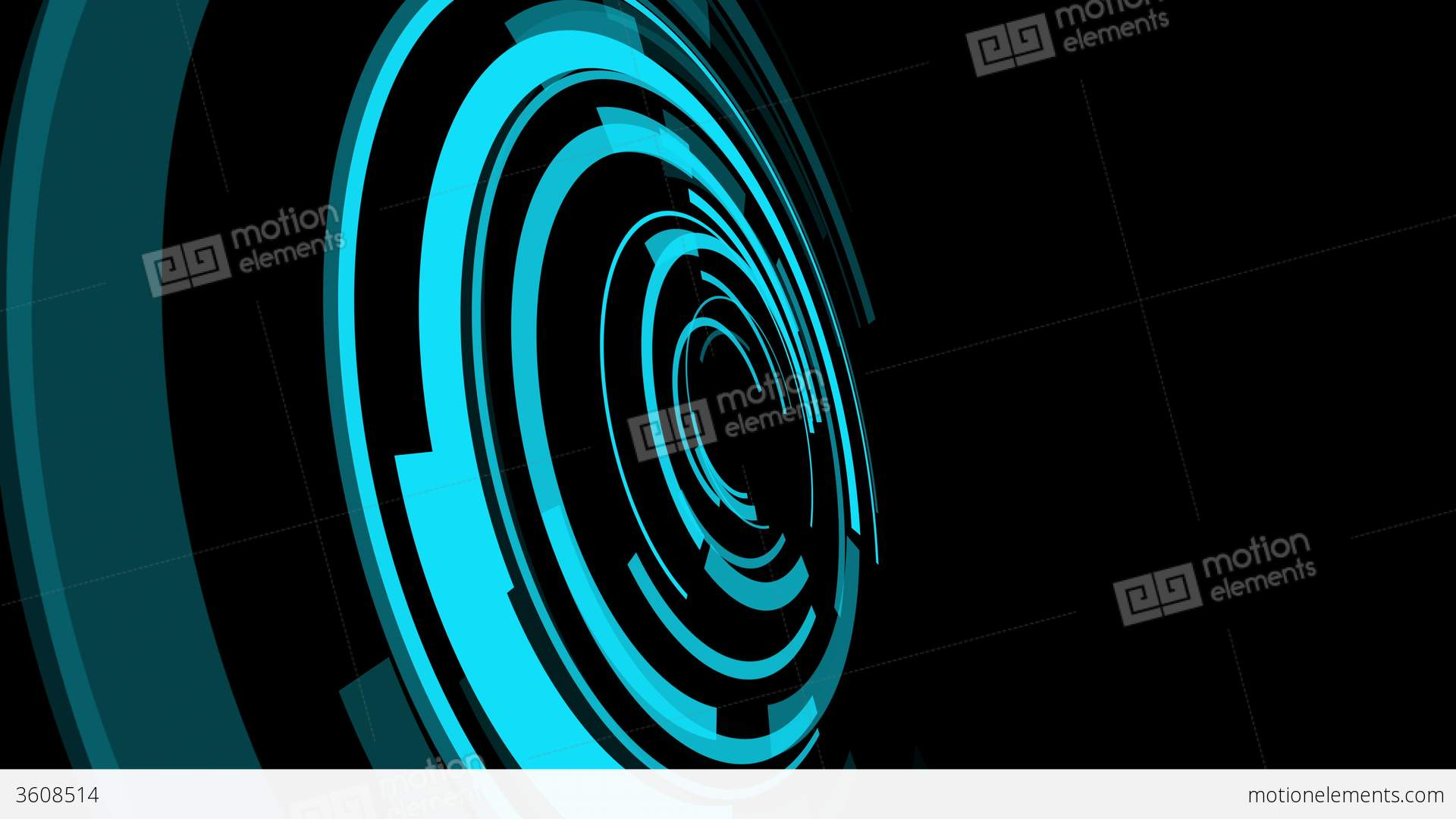 Futuristic Animation Abstract Motion Backgrounds Stock Animation