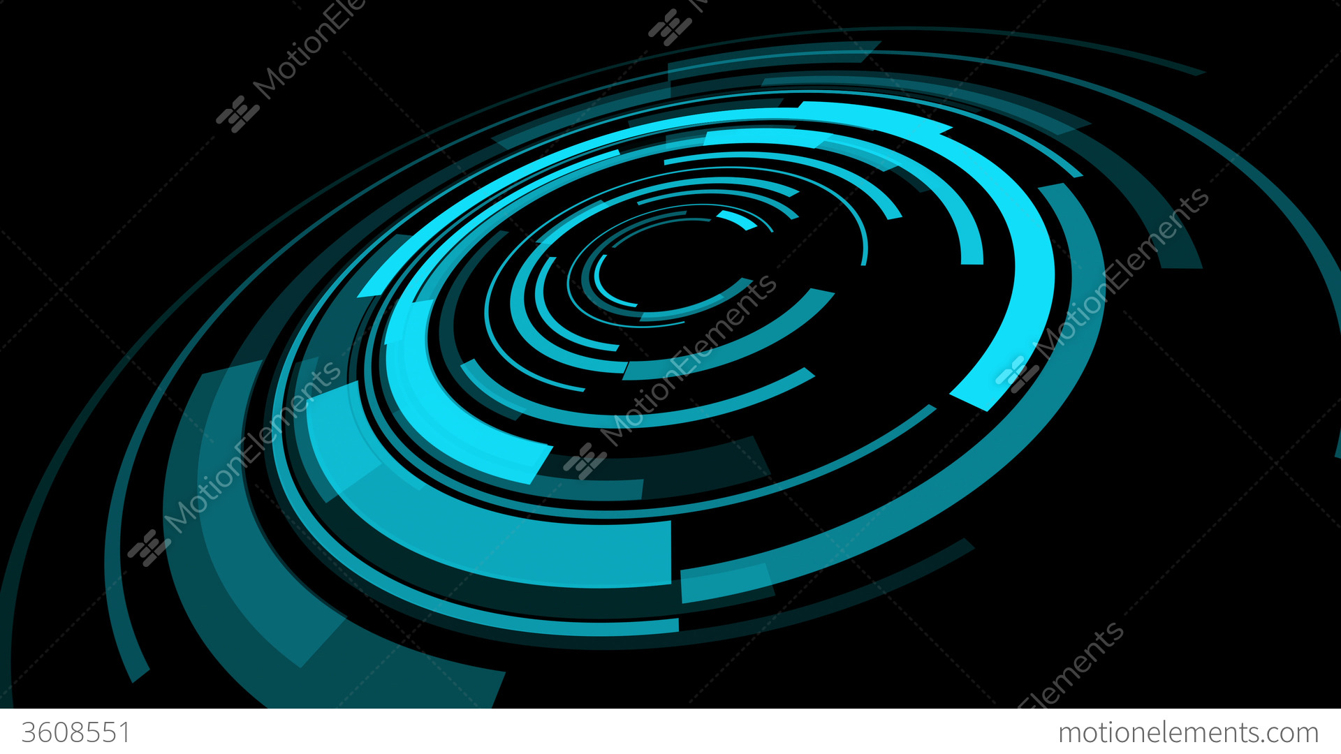 Futuristic Abstract Background 4k Stock Animation | 3608551