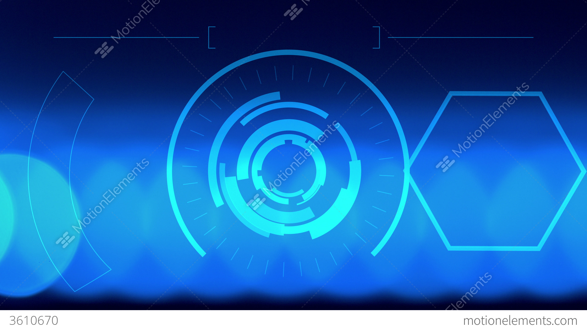 4k Abstract Lights Background, Hologram Futuristic Stock ...