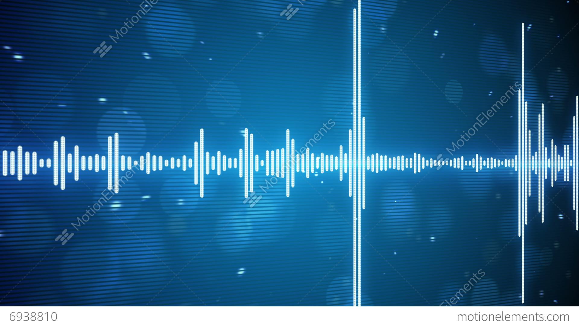Music Equalizer Wallpaper: Music Equalizer Seamless Loop Background 4k (4096x2304