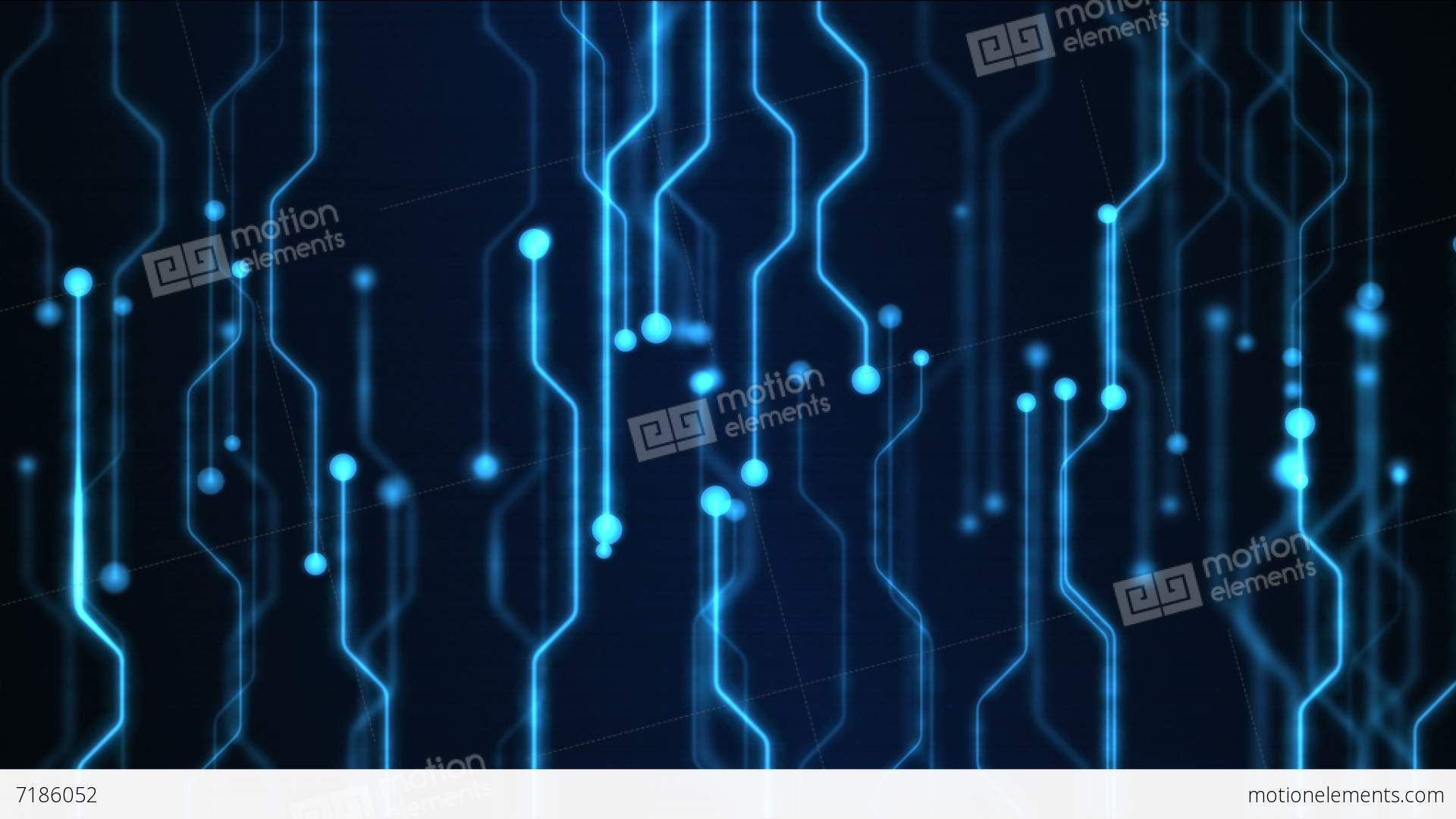 abstract technology circuit background animation loop blue stock rh motionelements com