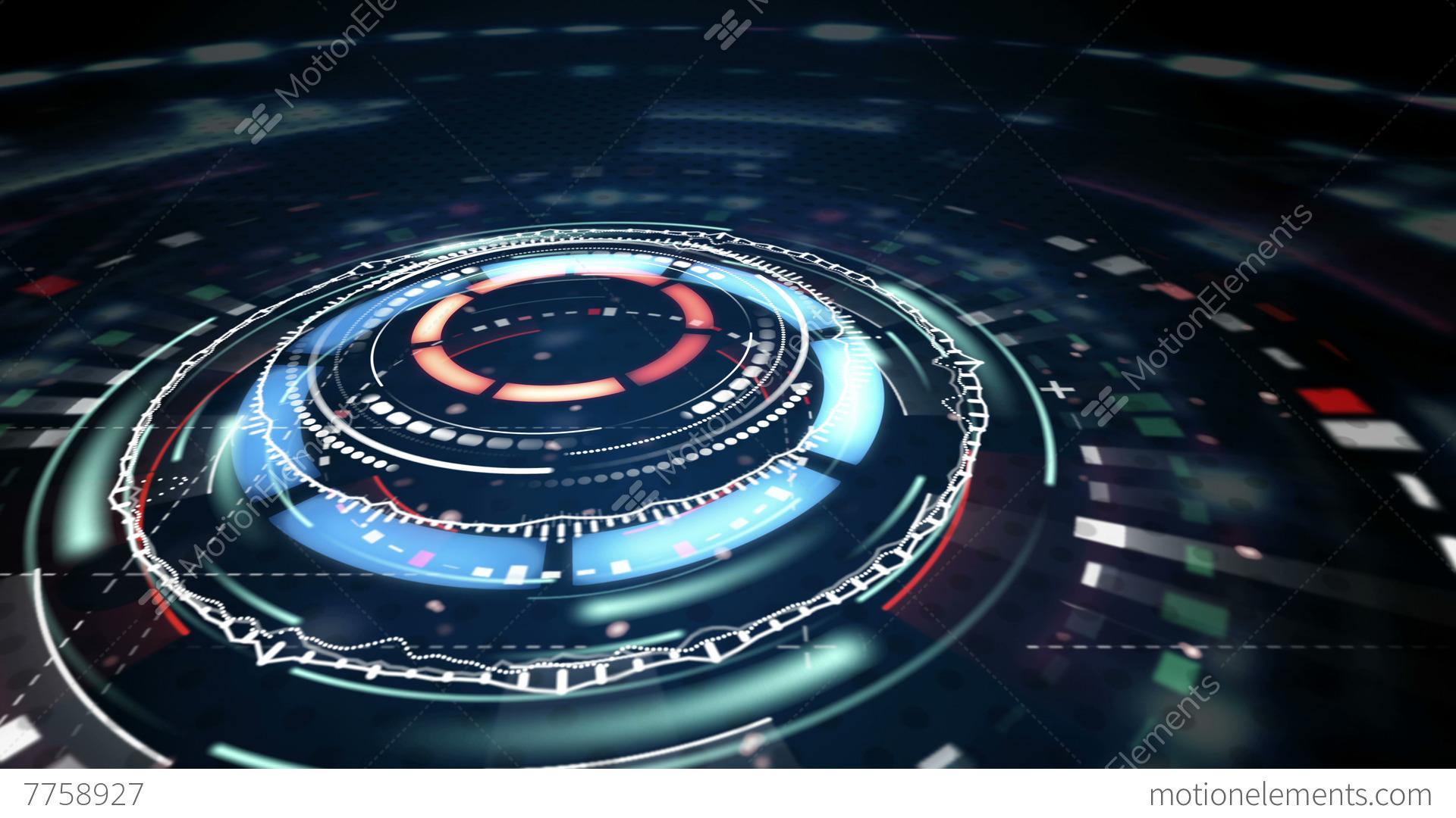 Science Fiction Futuristic Animation Loop 4k (4096x2304 ...