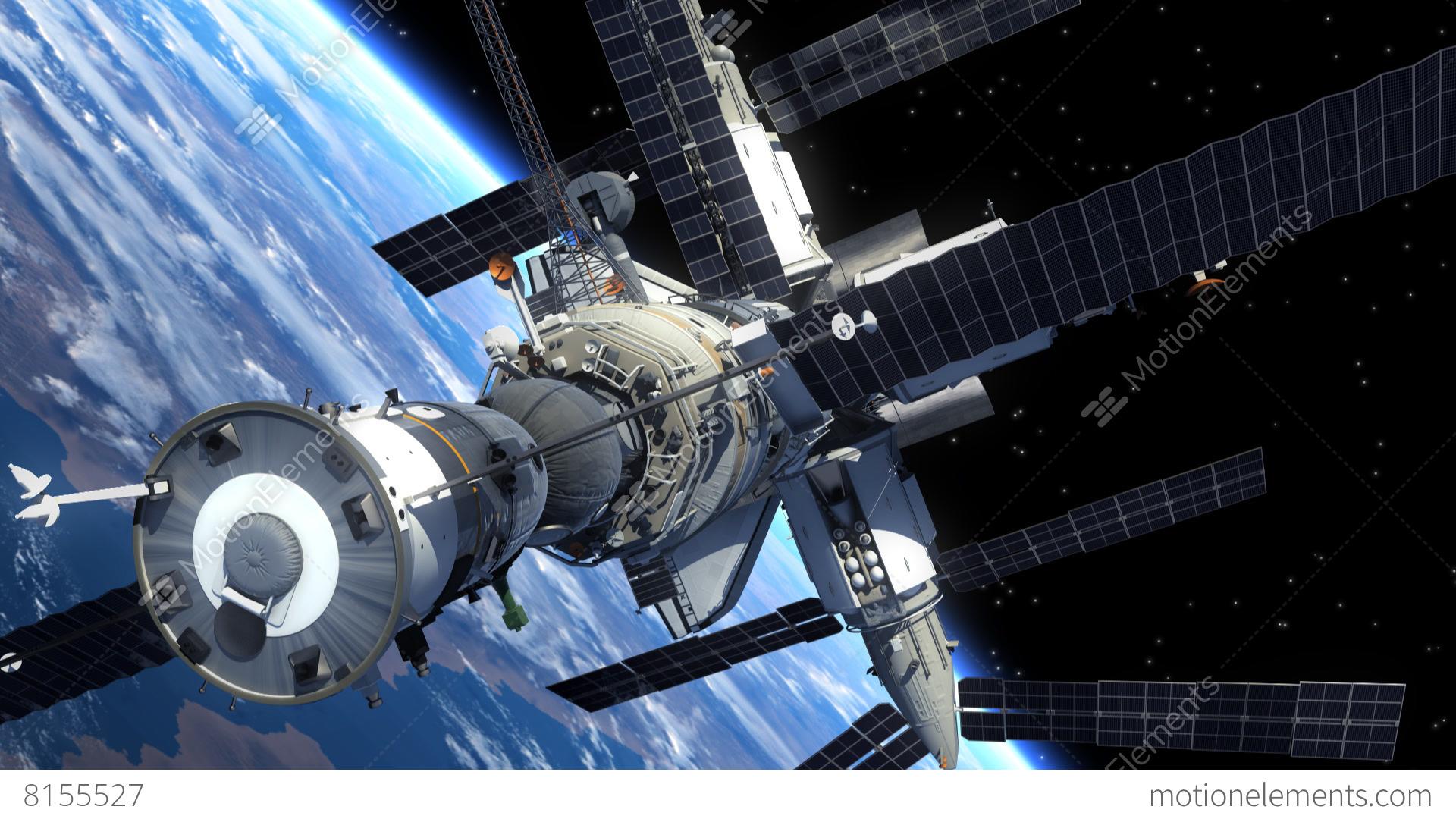 astronaut orbiting space station - photo #15