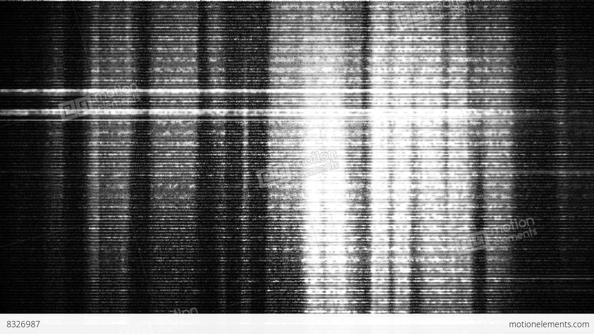 Tv Noise Glitch 2 A Stock Animation 8326987