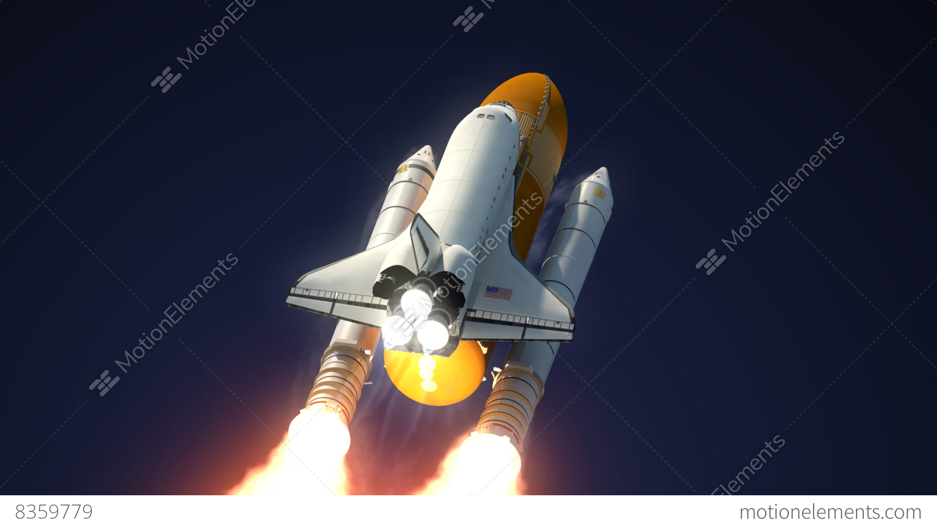 space shuttle launch booster separation - photo #14