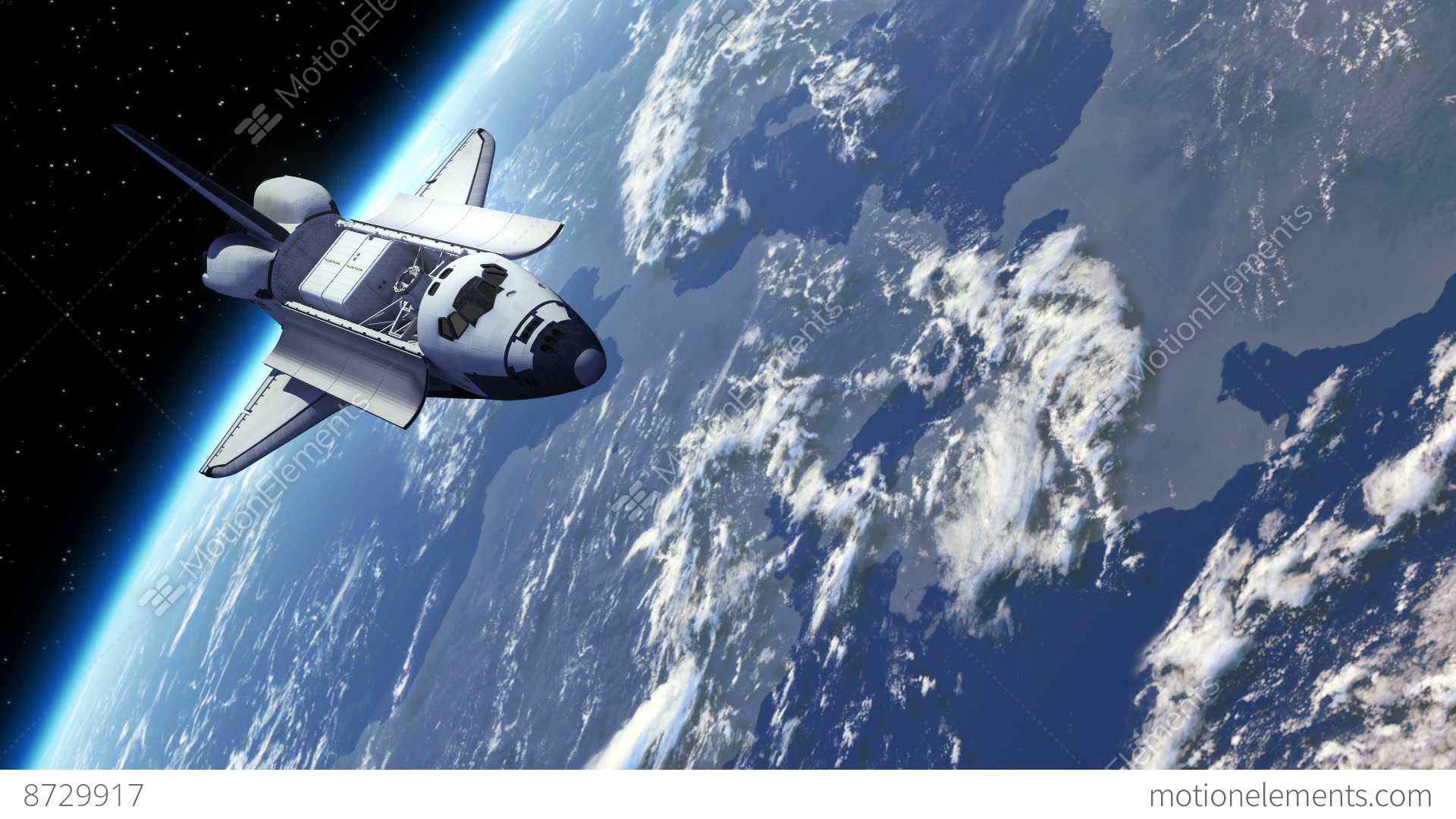 space shuttle trip around earth - photo #1
