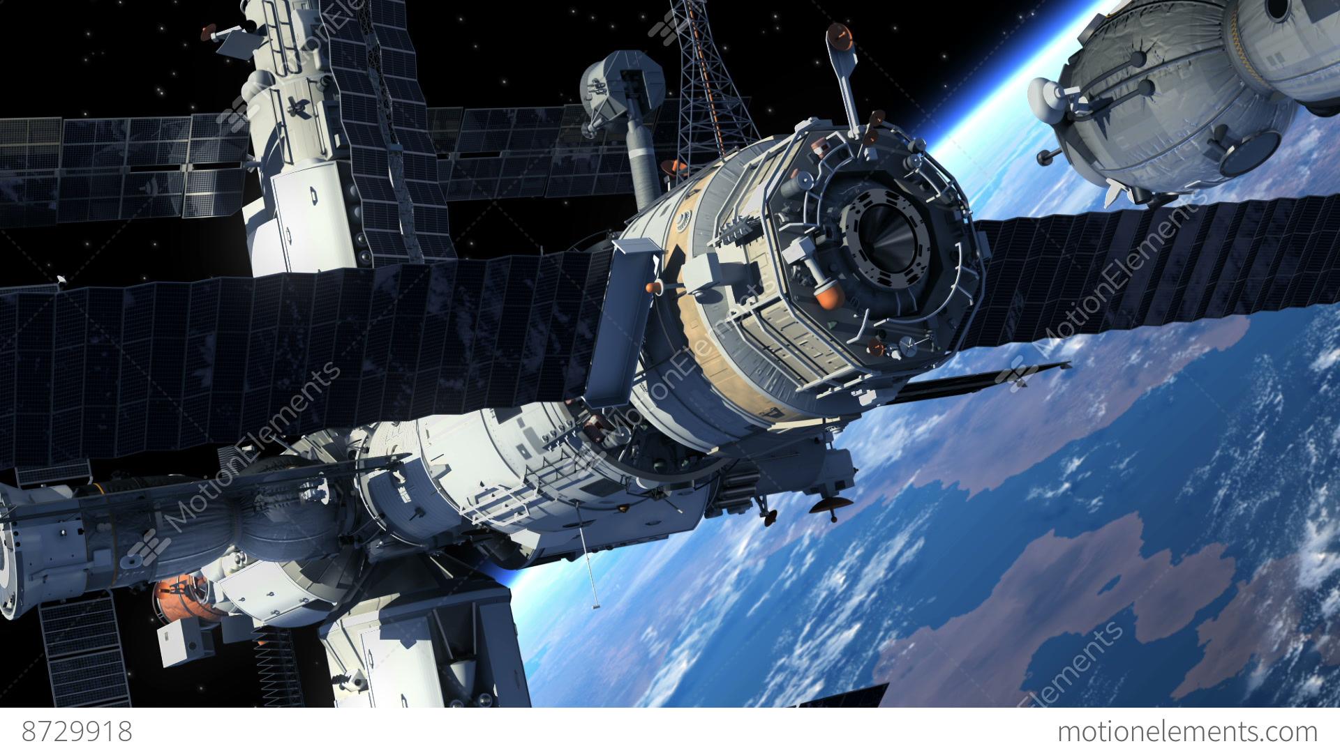 inside space ship docking station - photo #11