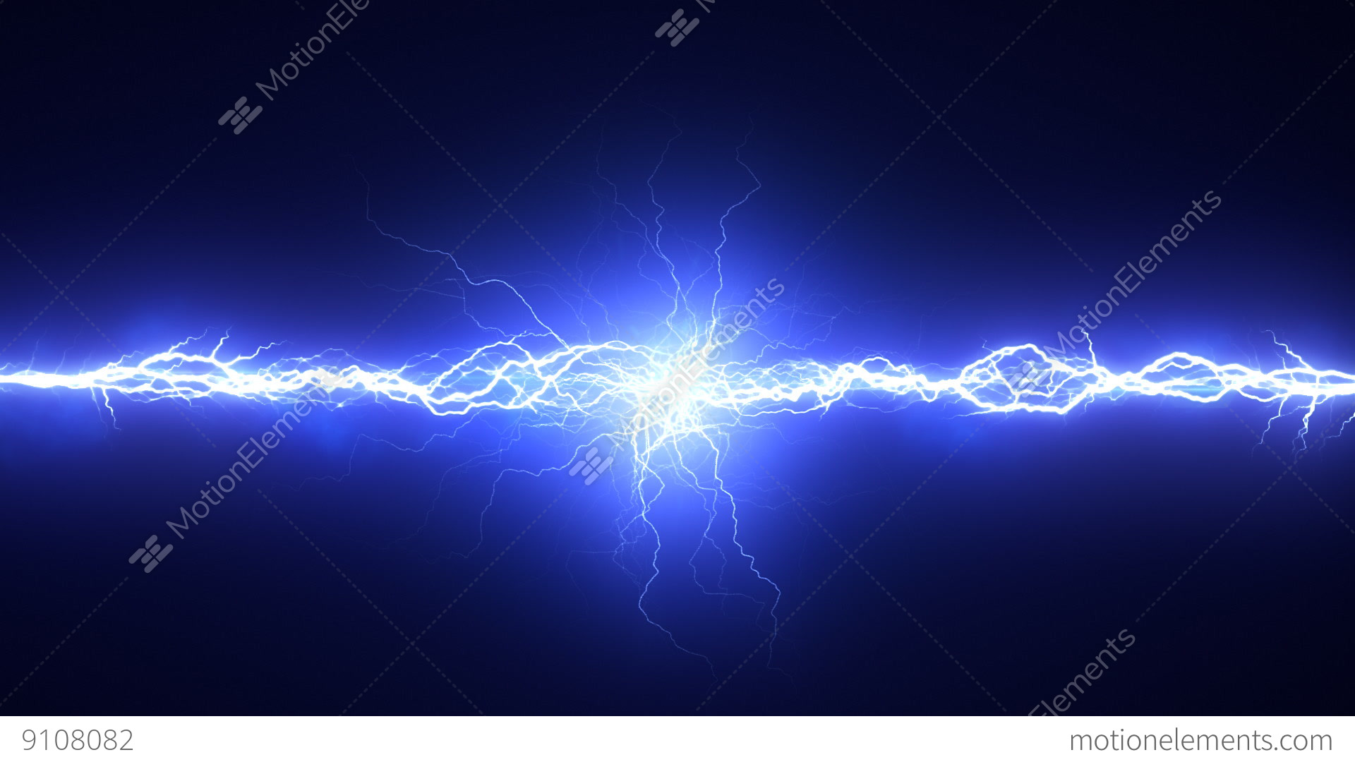 Electrical Spark Element Stock video footage | 9108082