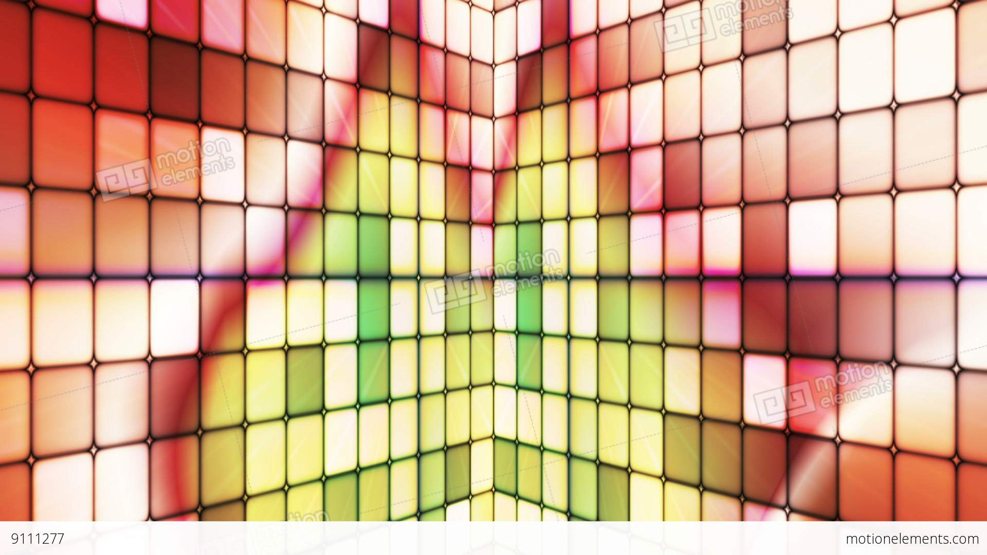 Broadcast Twinkling Hi-Tech Cubes Walls, Multi Color, Abstract ...