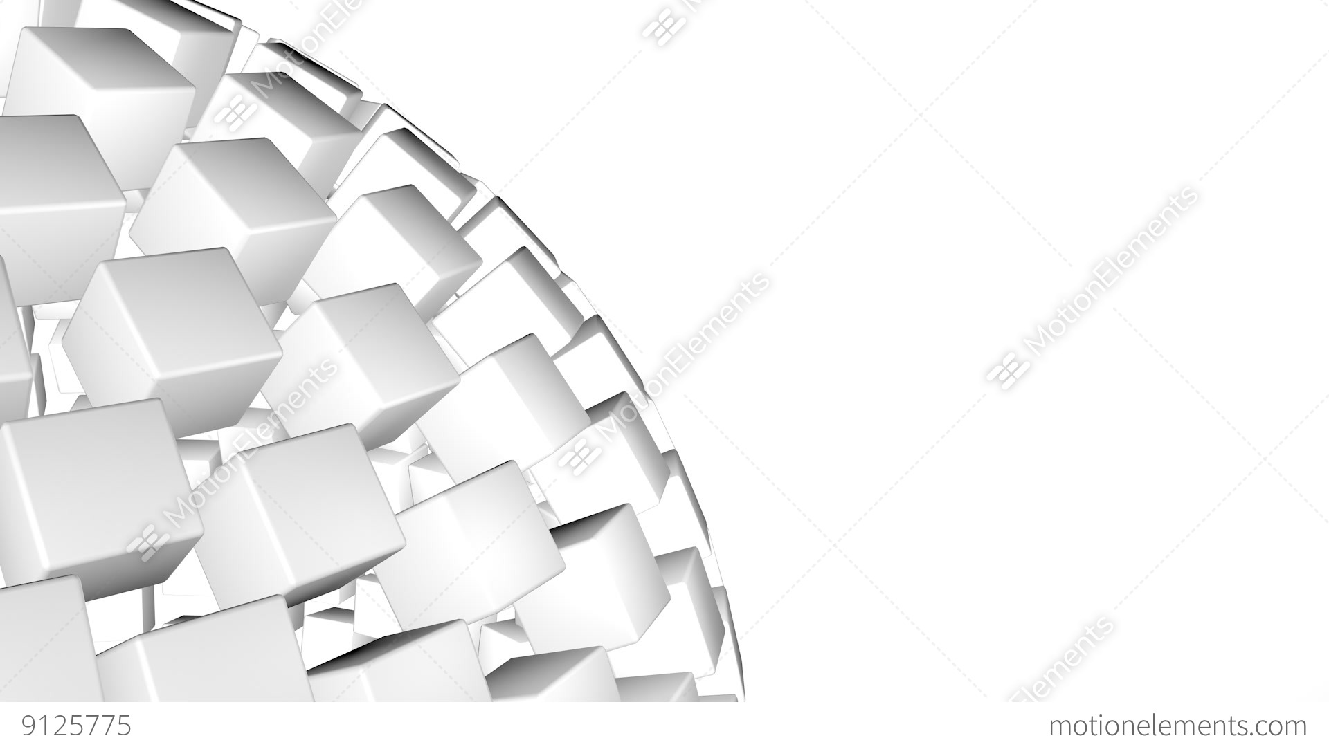 White 3d abstract advanced technology motion background - White abstract background hd ...