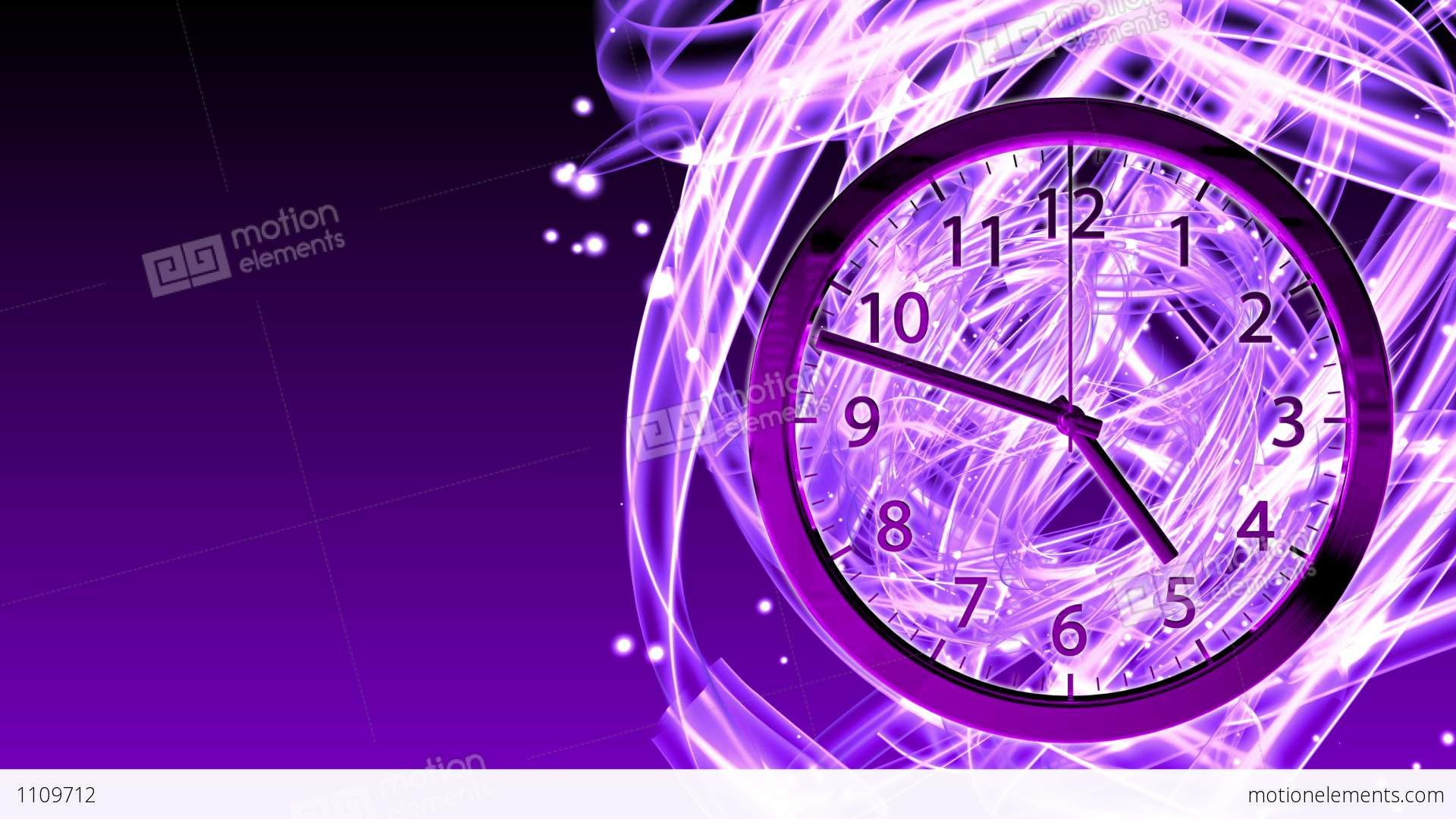 Passing Time Background - Clock 72 (HD) Stock Animation ...